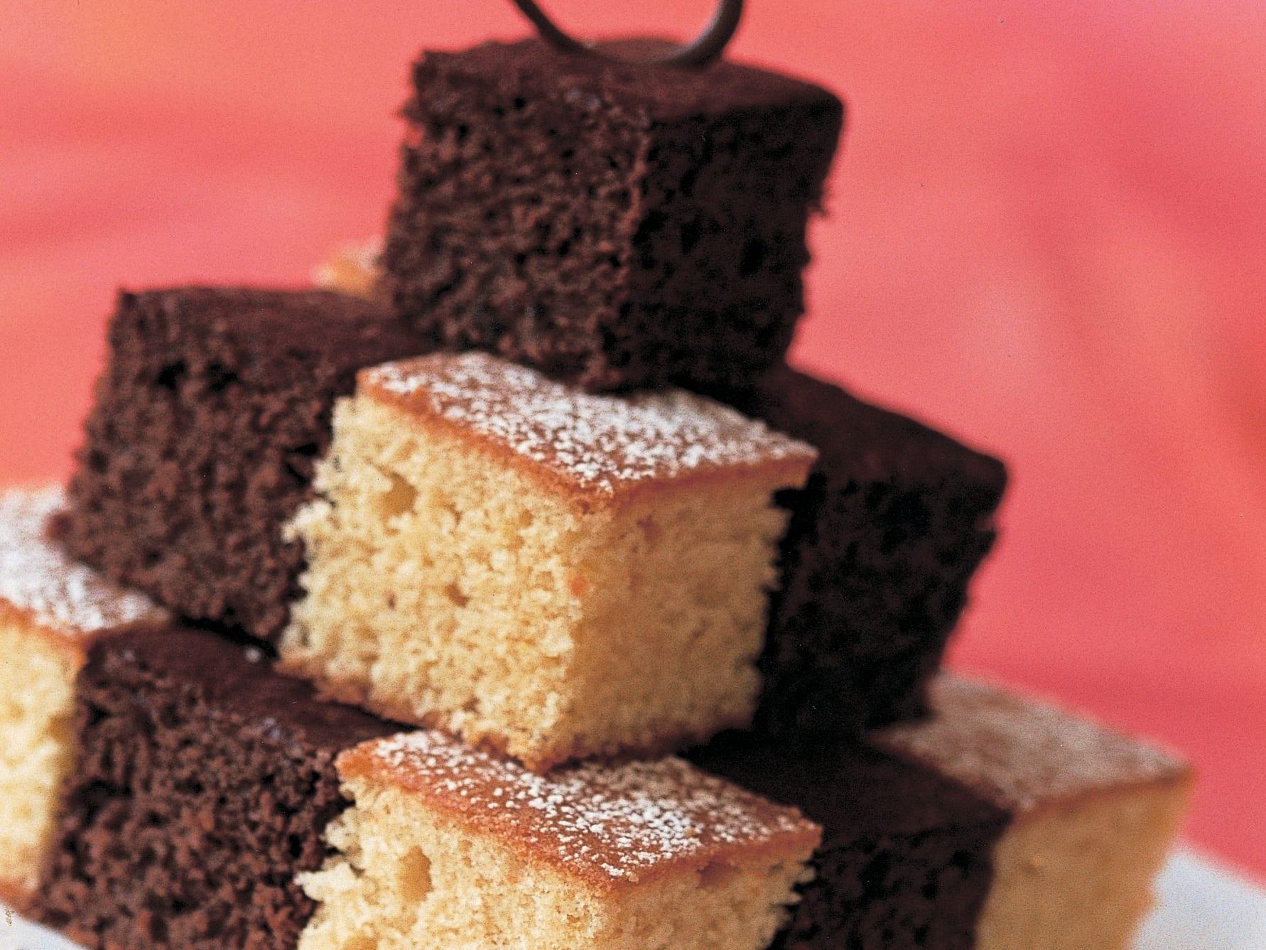 Schachbrett-Brownies