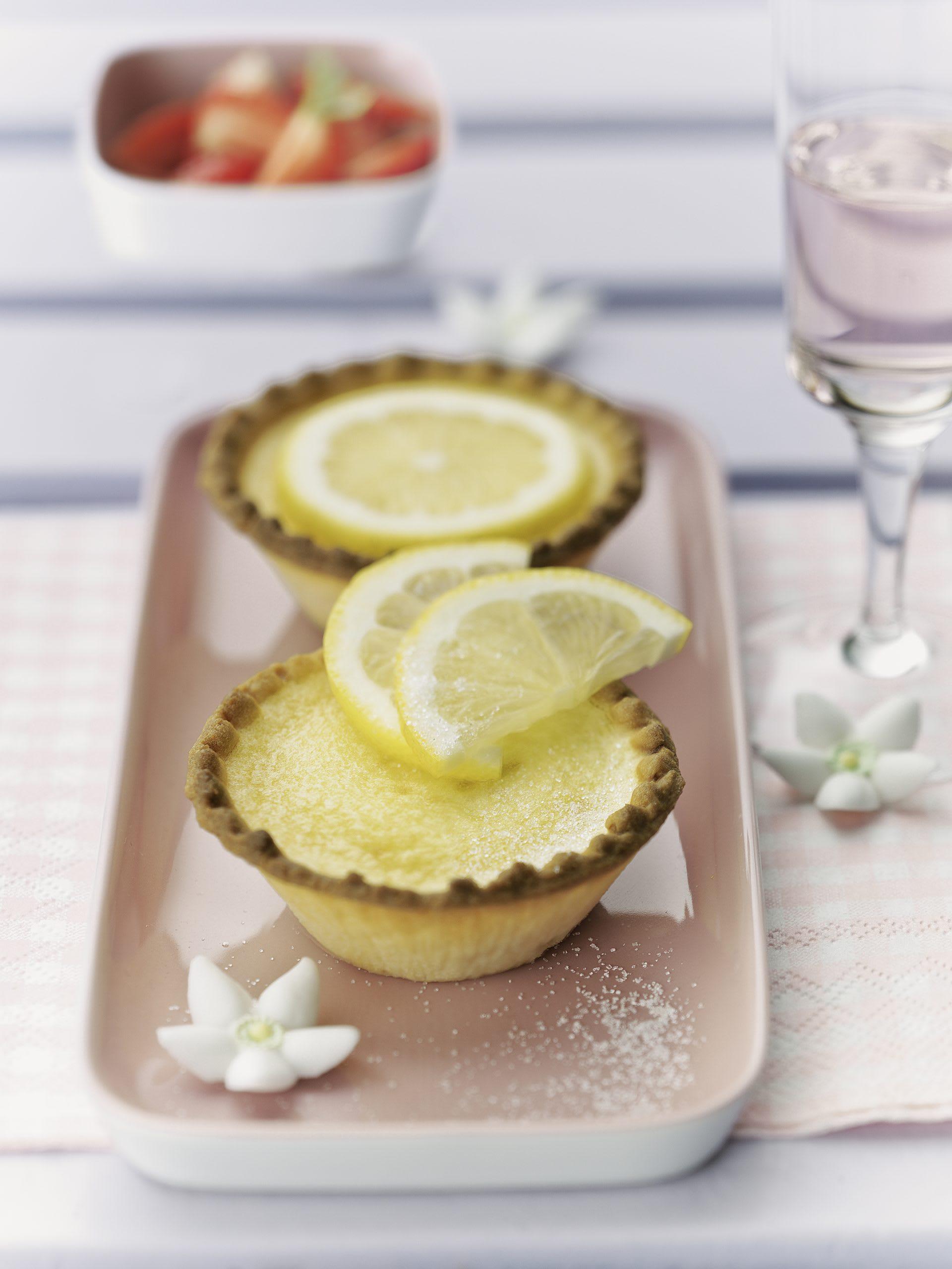 Tartelettes au citron express