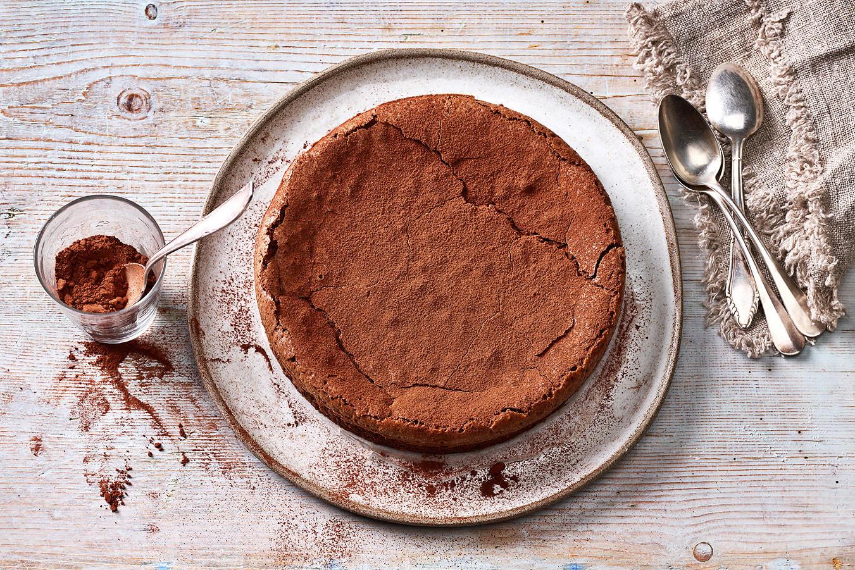 Schneller Schokoladenkuchen feucht