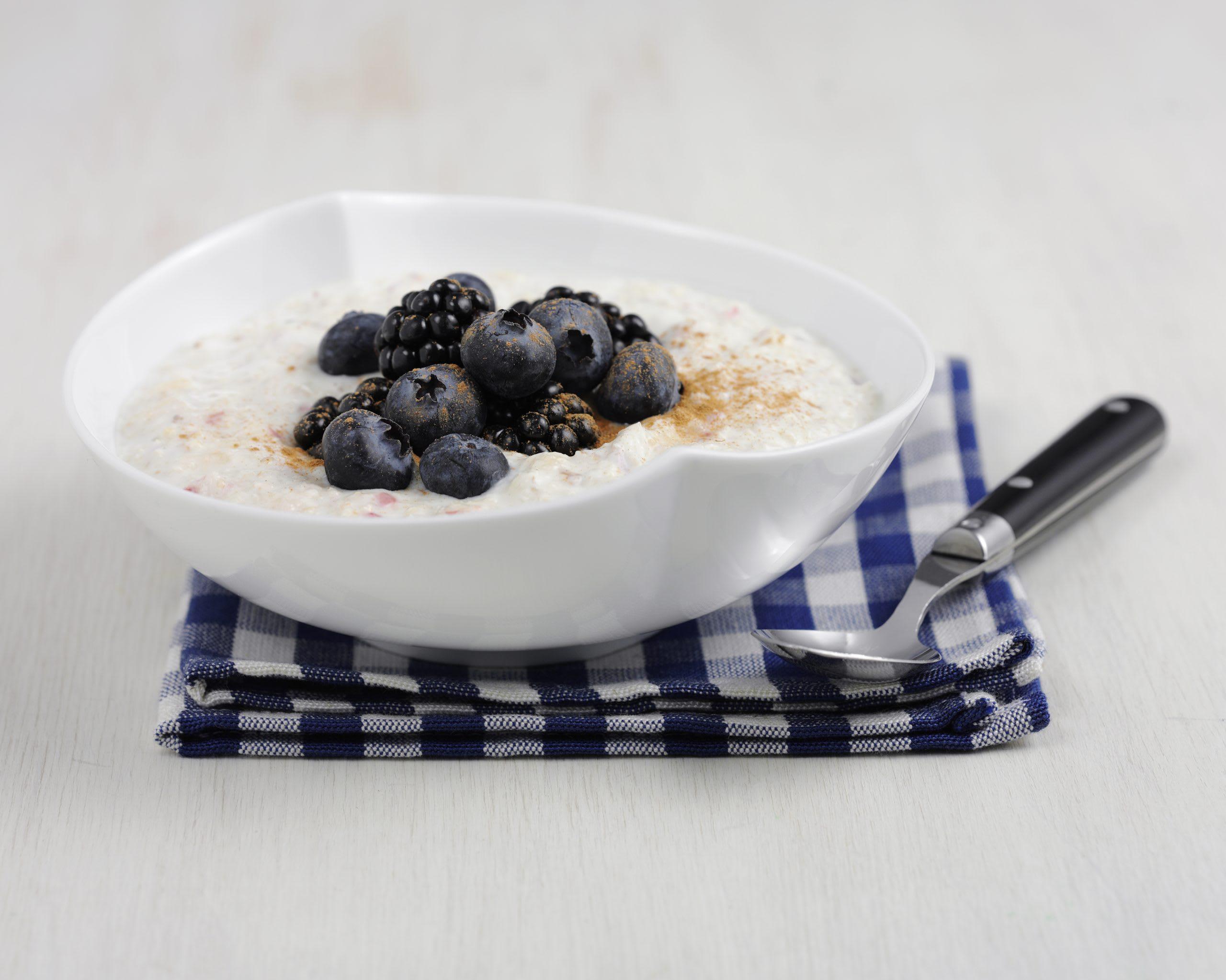 Schnelles Birchermüesli mit Joghurt