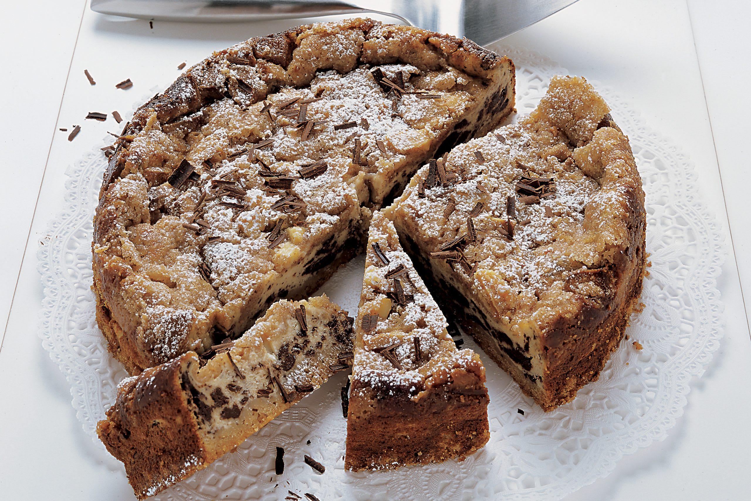 Gâteau crumble au chocolat