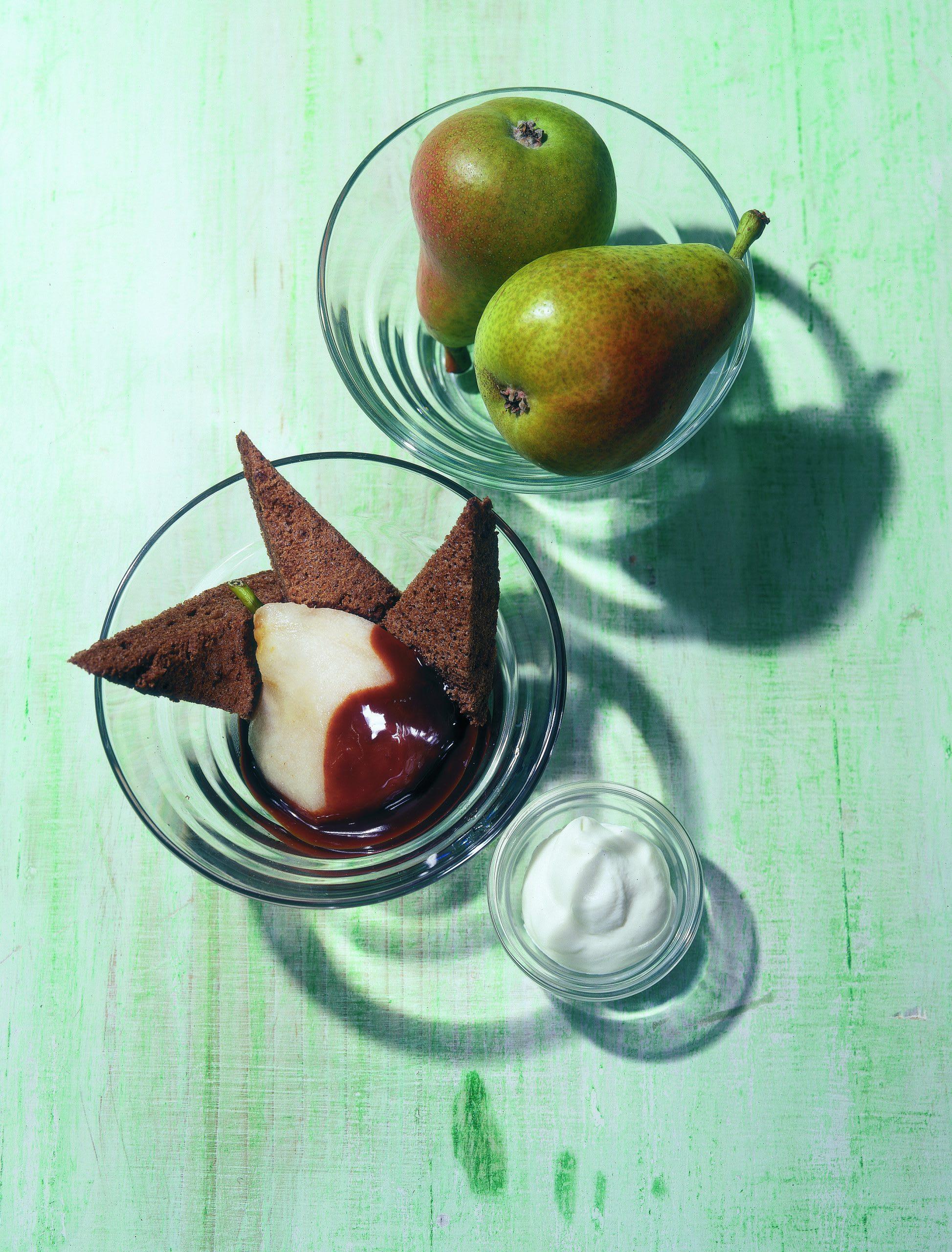 Schokolade-Birne