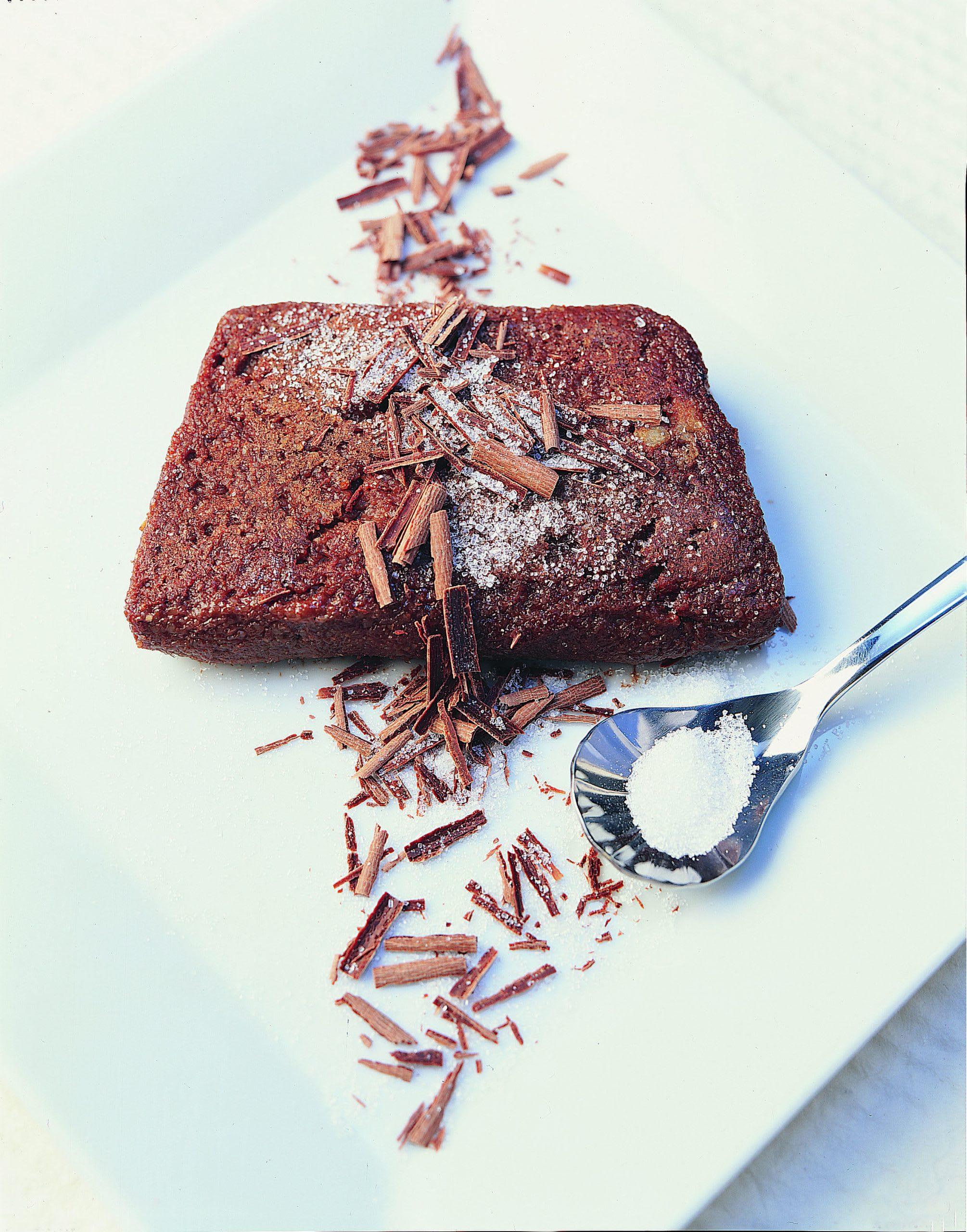 Schokolade-Griess-Schnitten