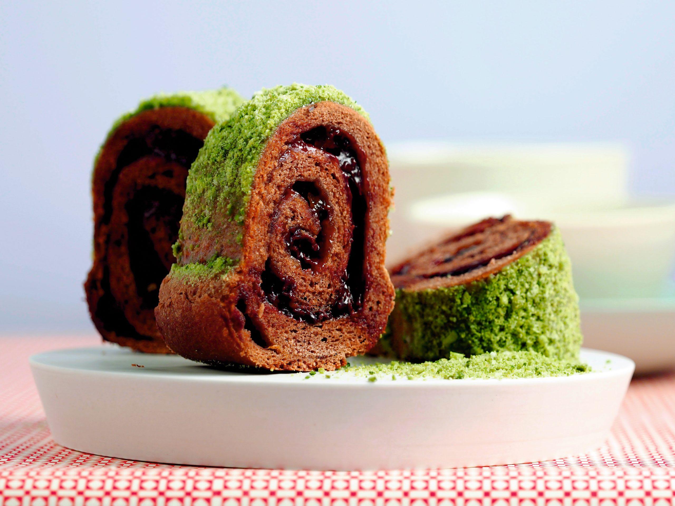 Schokolade-Pistazien-Ring