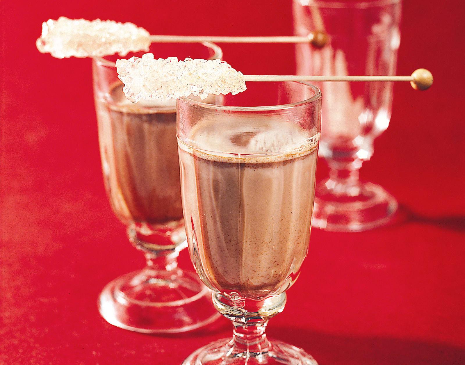 Schokolade-Schwarztee