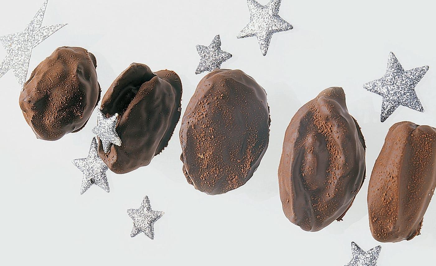 Fruits secs chocolatés