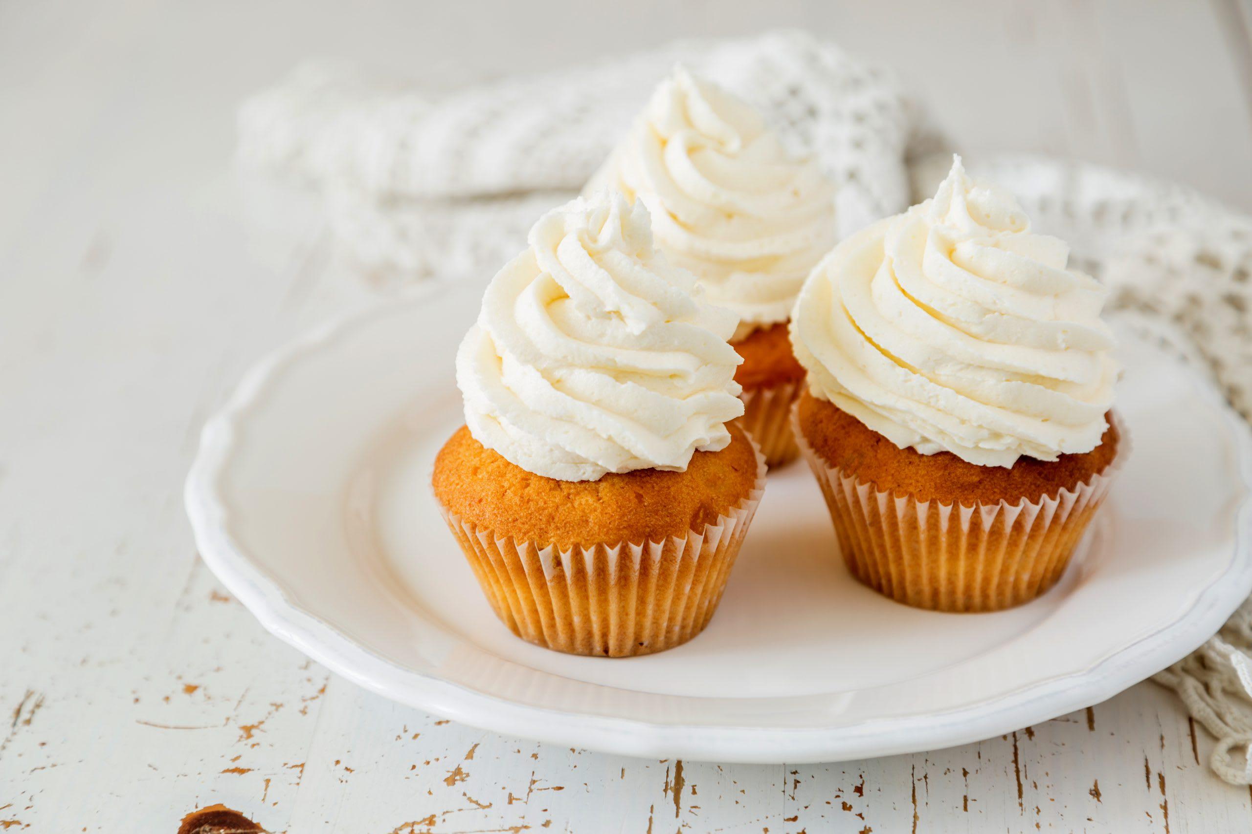 Schokoladen-Joghurt-Cupcakes