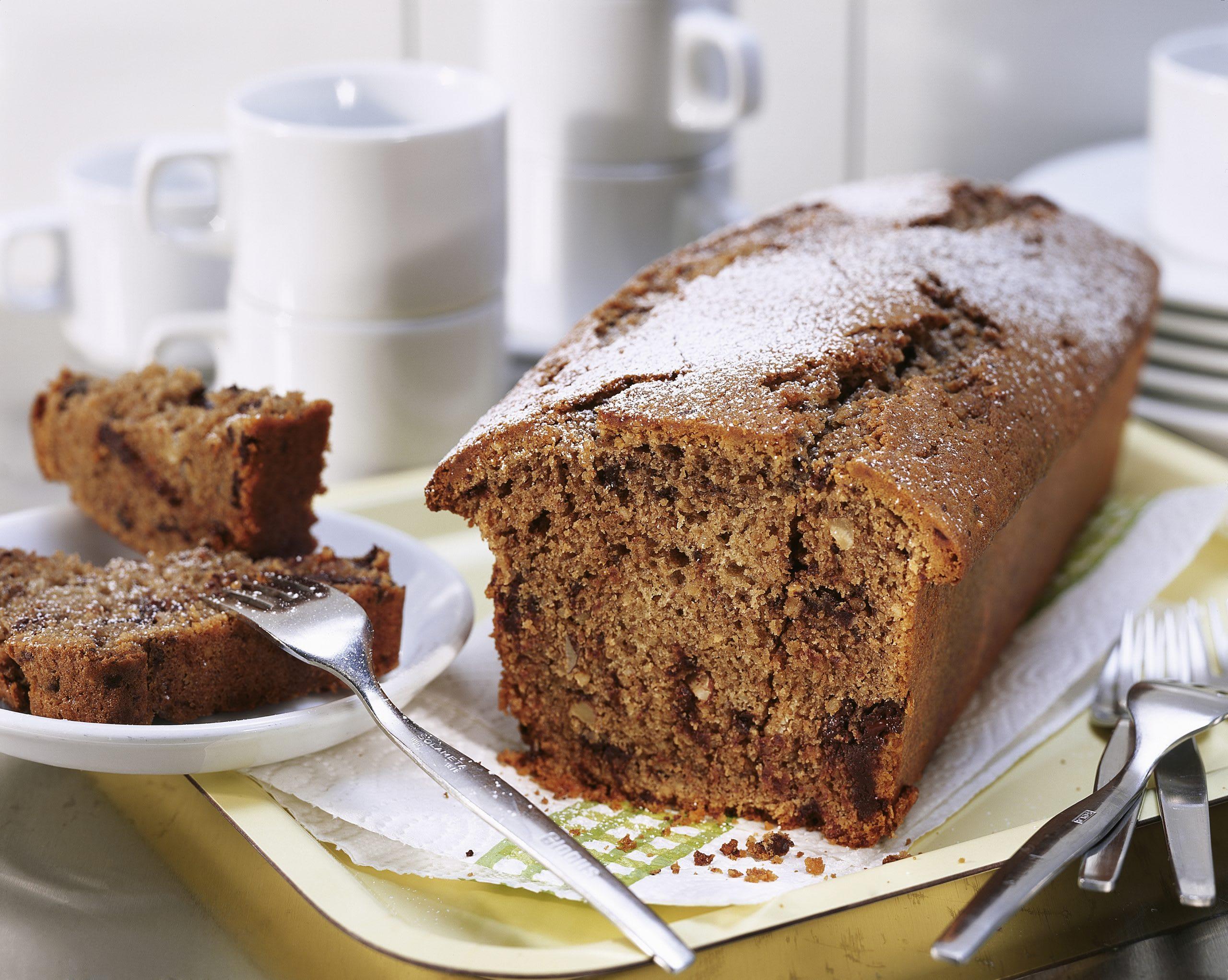Schokoladen-Mocca-Nuss-Cake