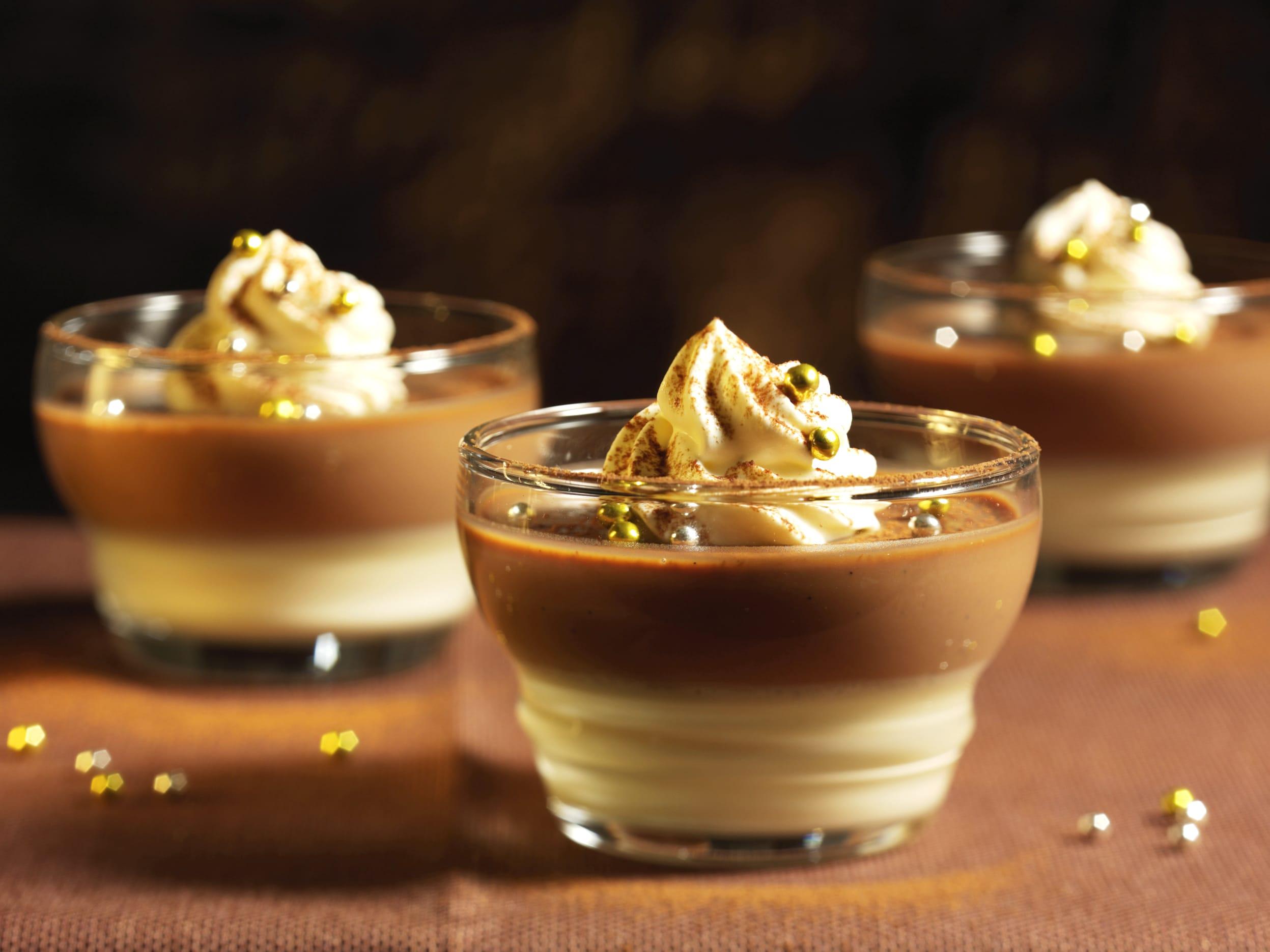 Schokoladen-Panna-cotta
