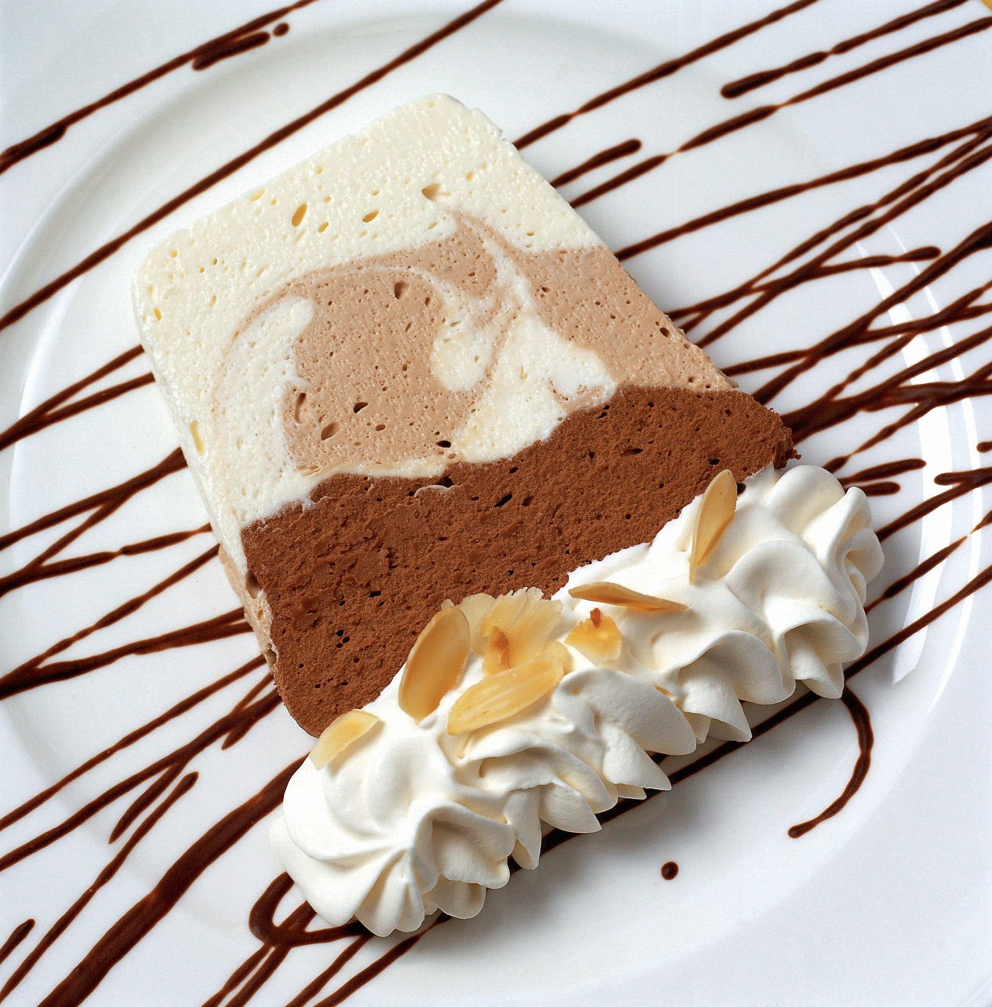 Terrine aux 3 chocolats