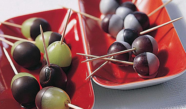 Schokoladen-Trauben