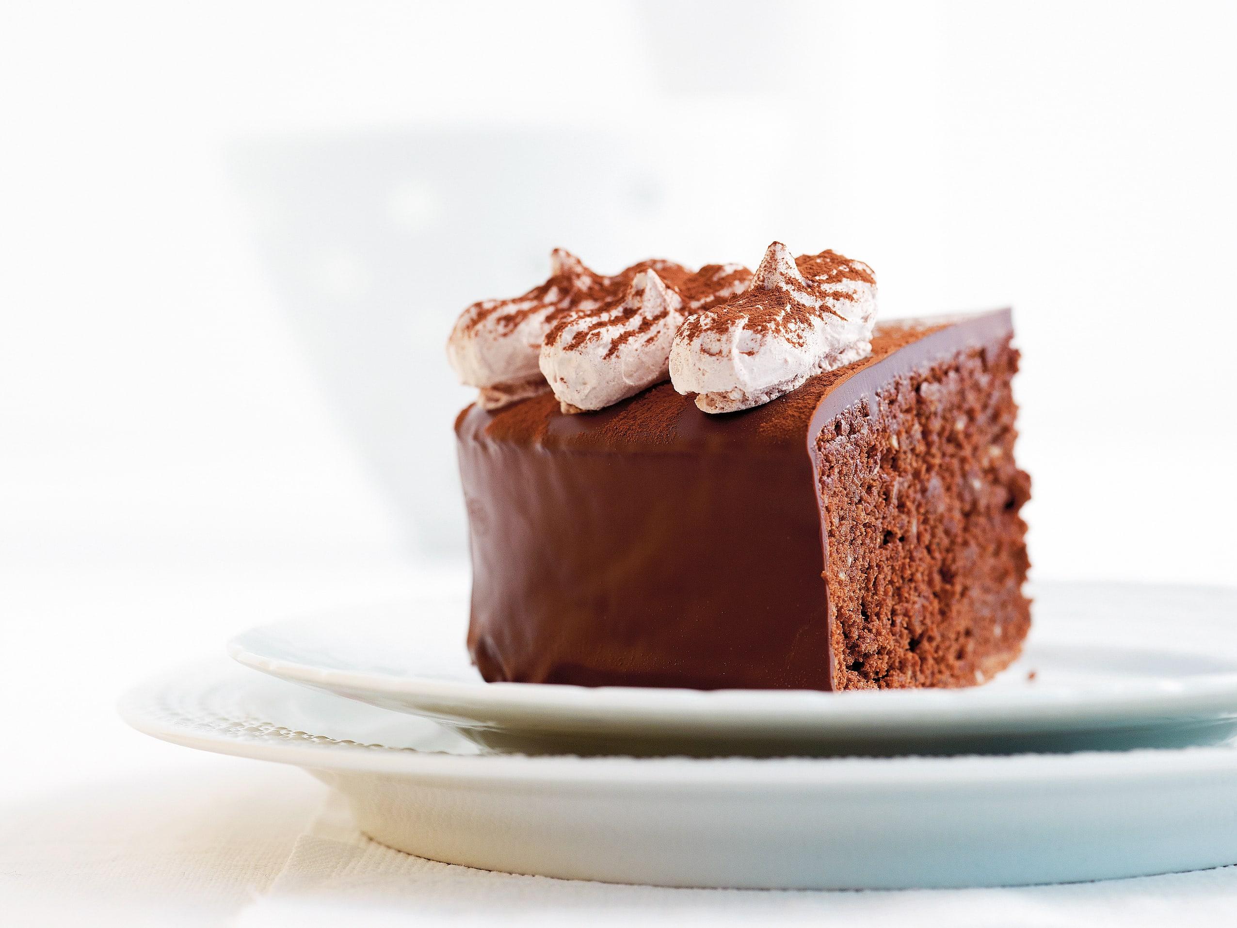 Schokoladenschäumchen-Kuchen