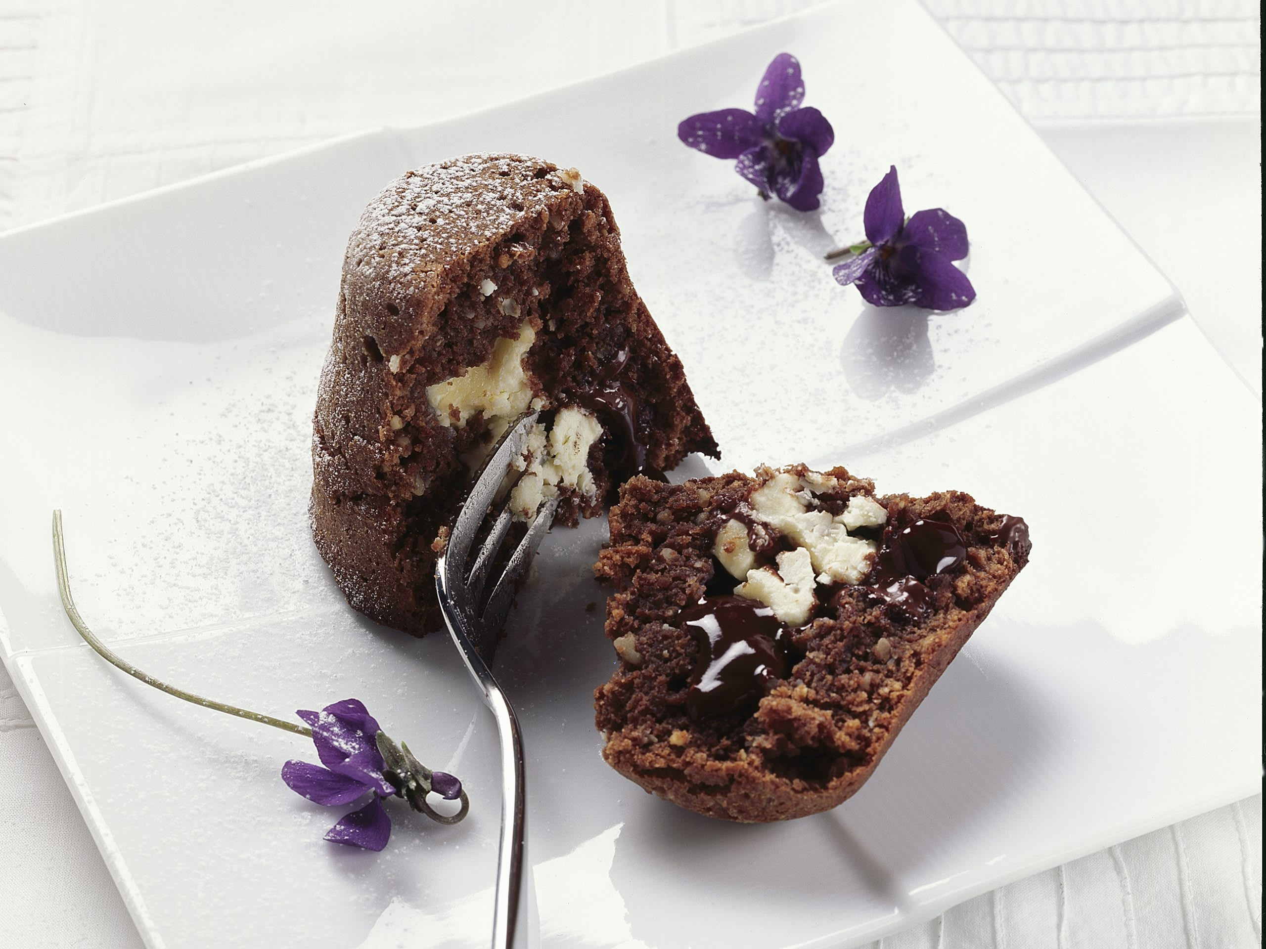 Timbale surprise au chocolat