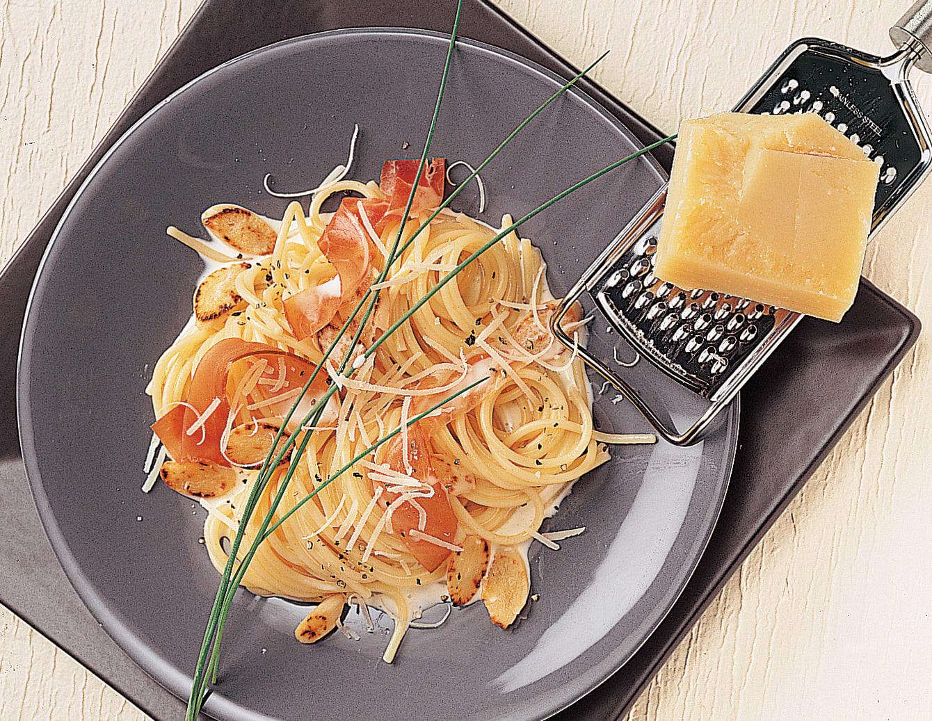 Spaghetti aux salsifis