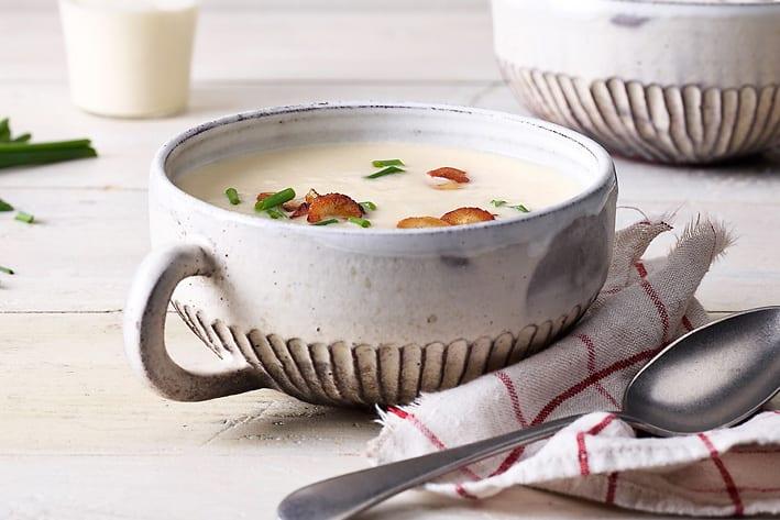 Schwarzwurzelcrème-Suppe