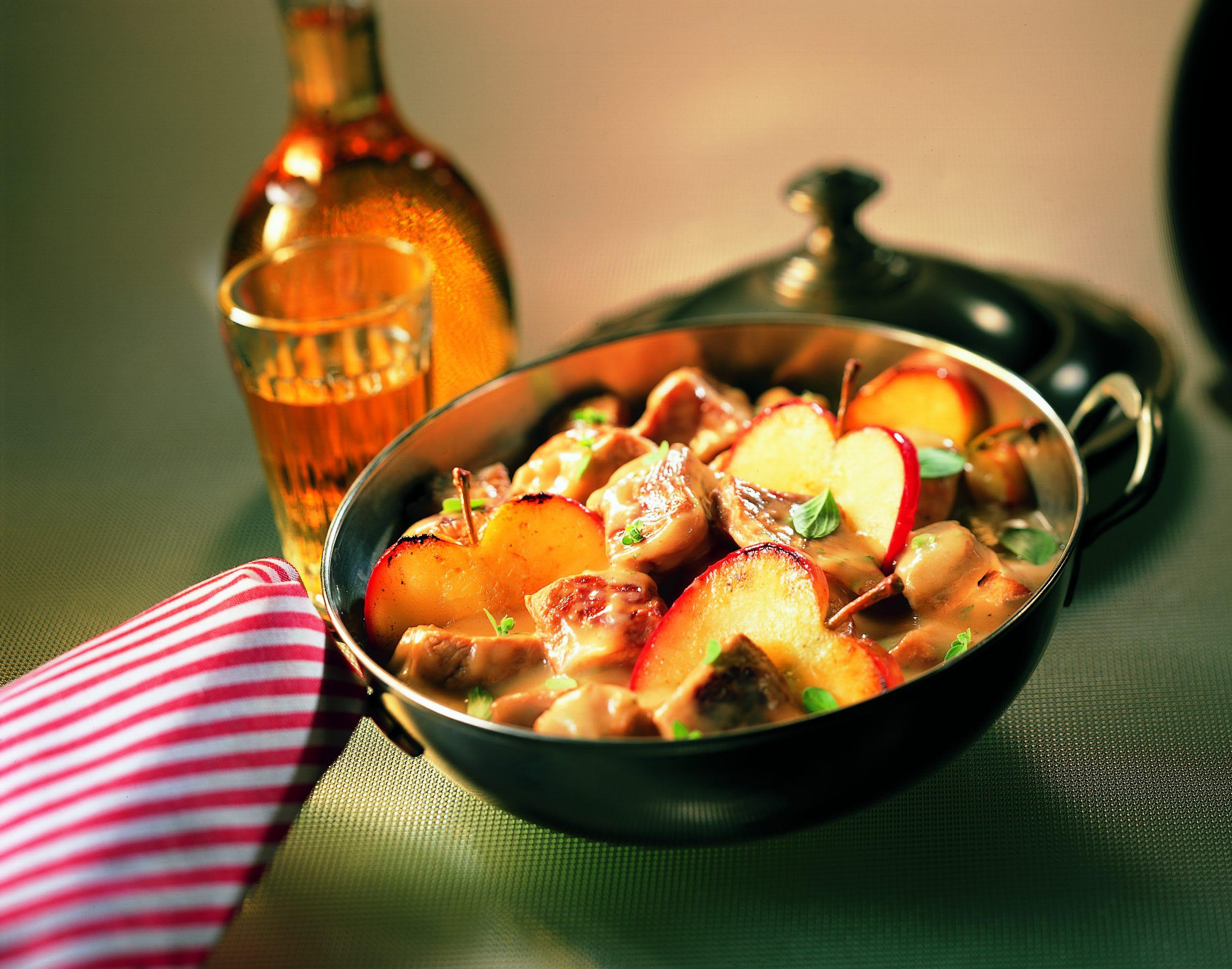 Ragoût de porc à la pomme
