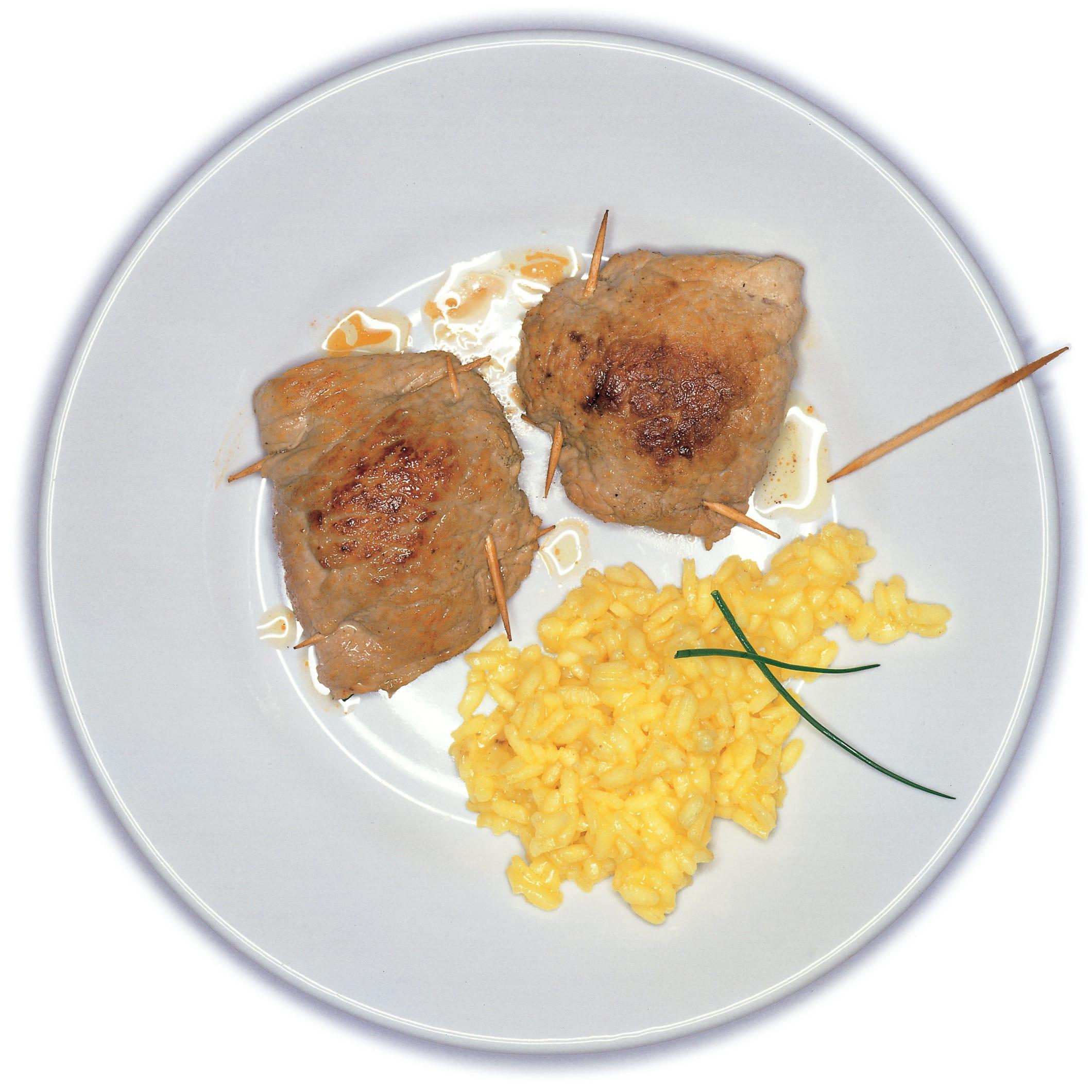 Schweinsschnitzel mit Mozzarellafüllung