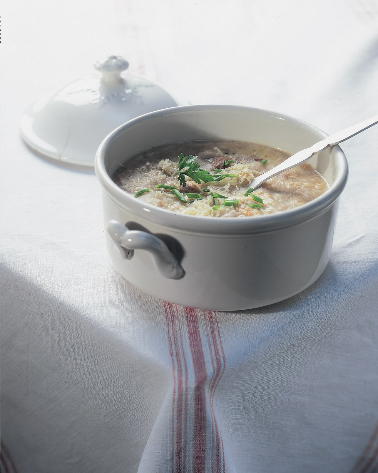Schwyzer Chässuppe (Käsesuppe)