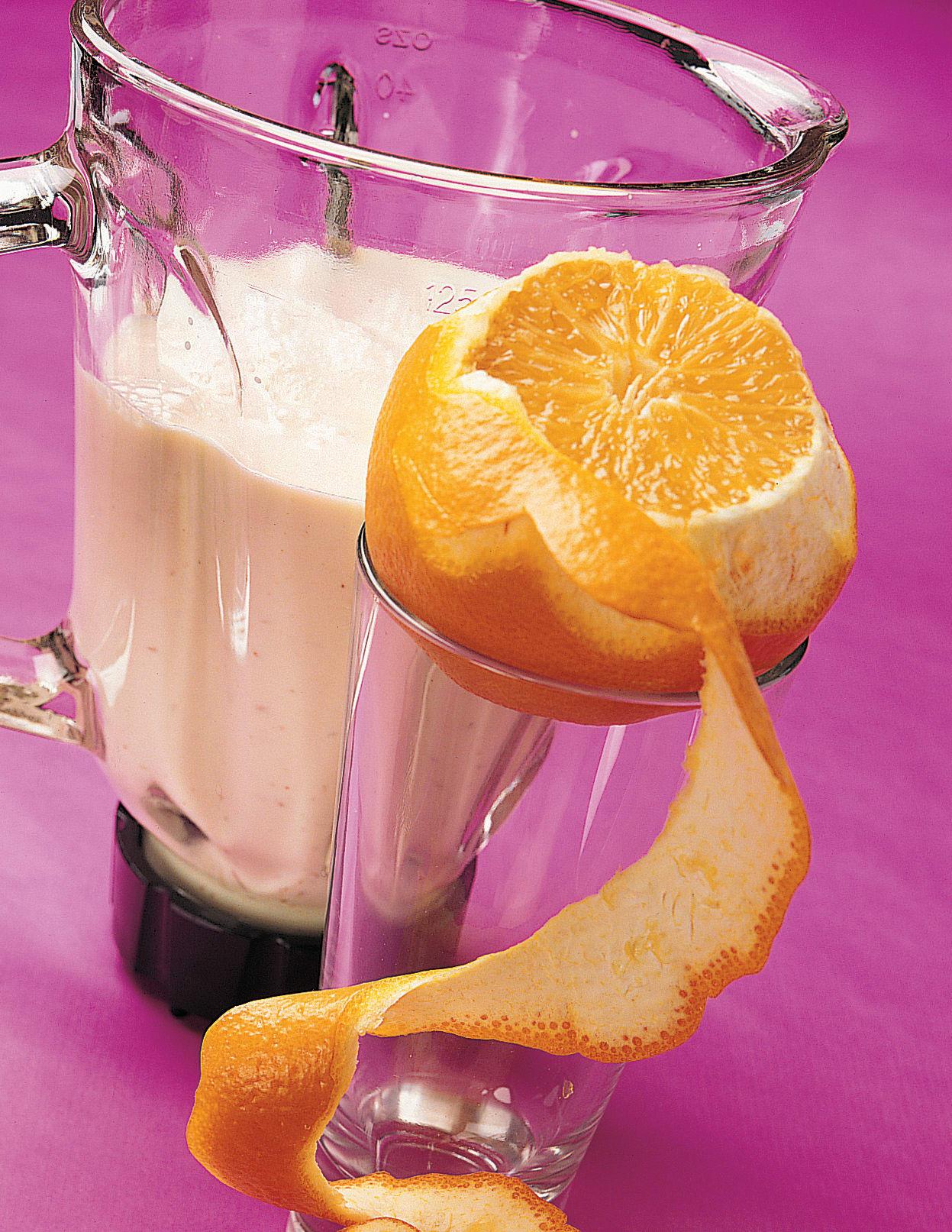 Sellerie-Orangen-Shake