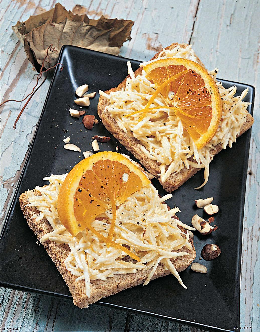 Sellerie-Toast