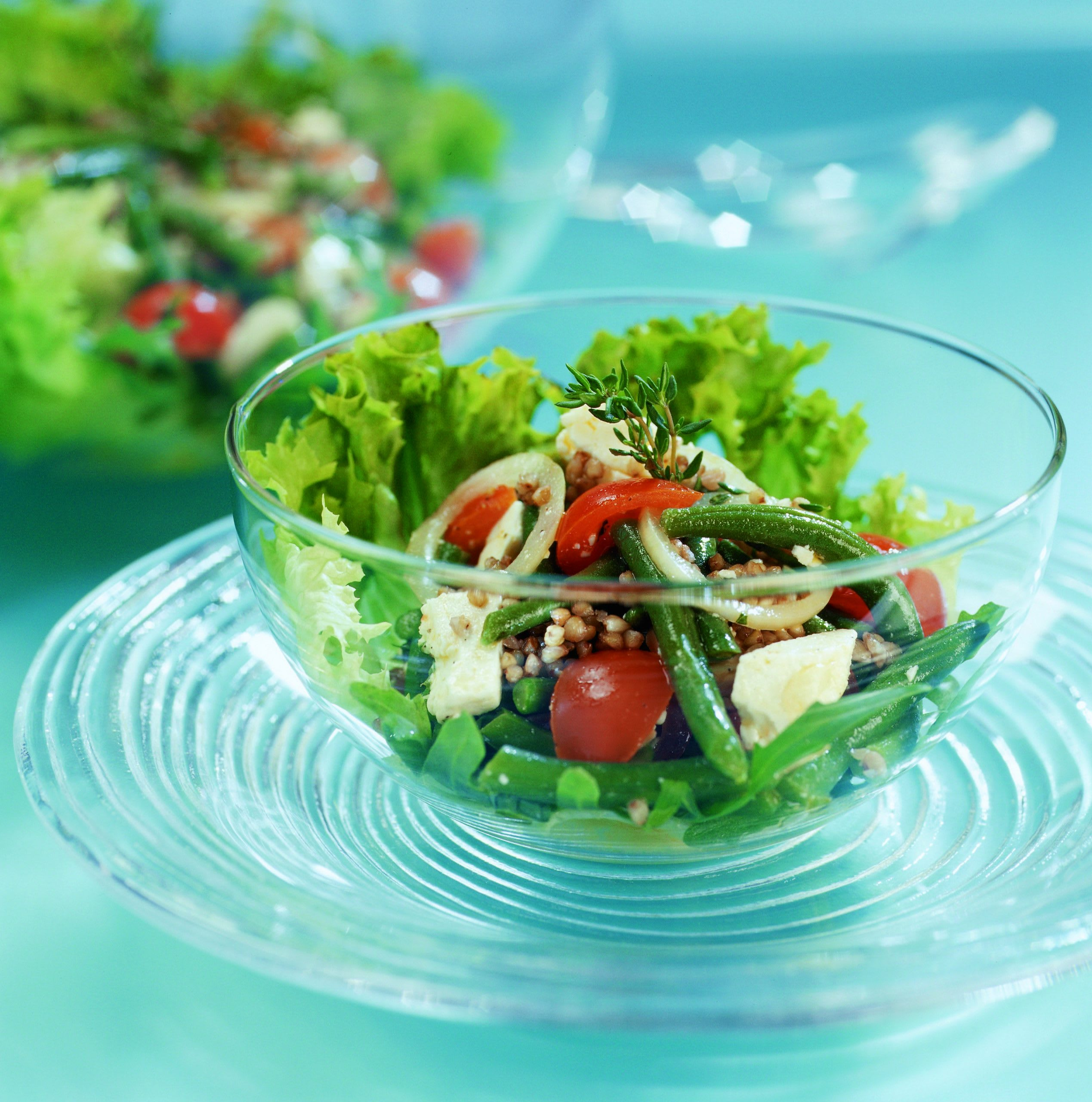Salade estivale au sarrasin sauté