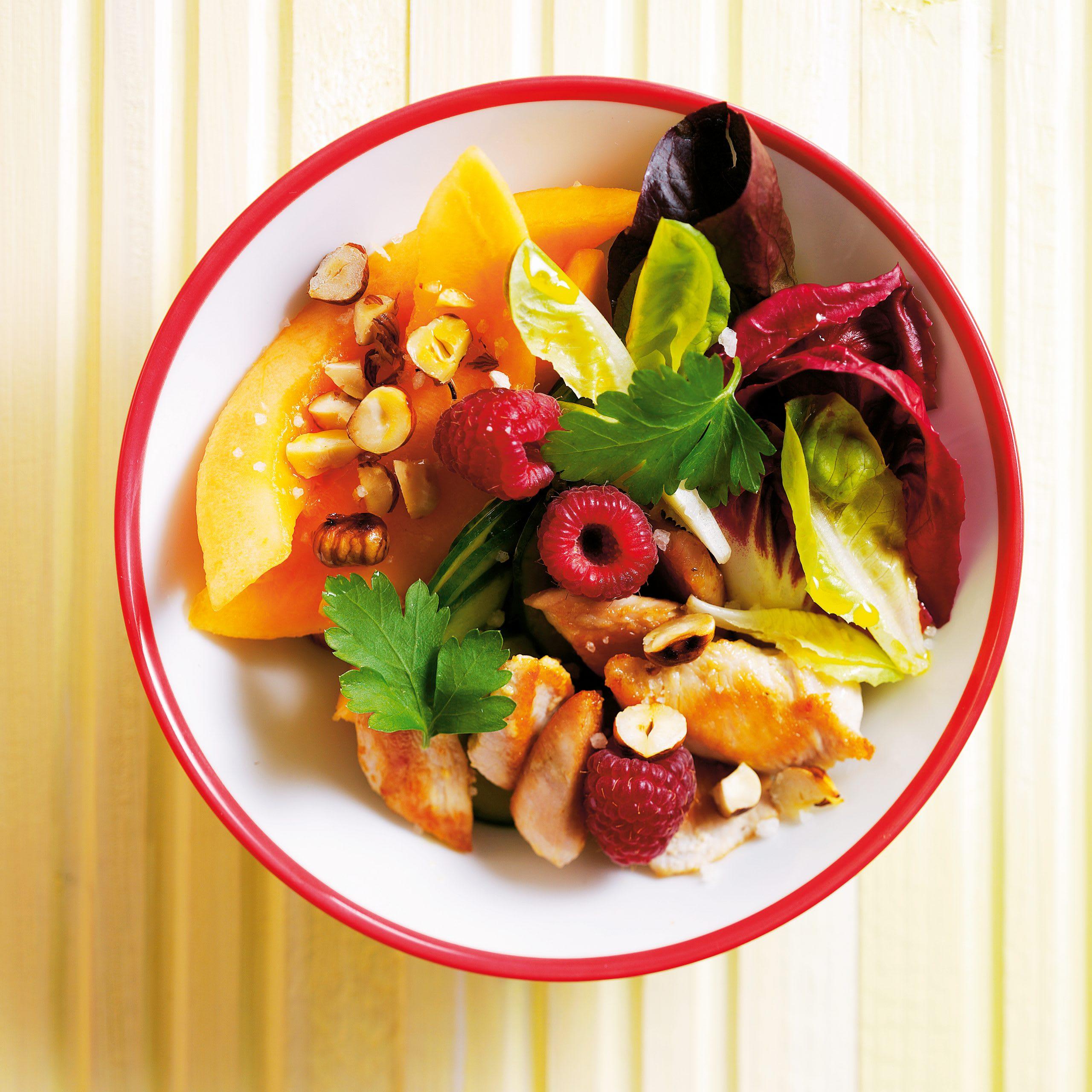 Salade d'été au poulet