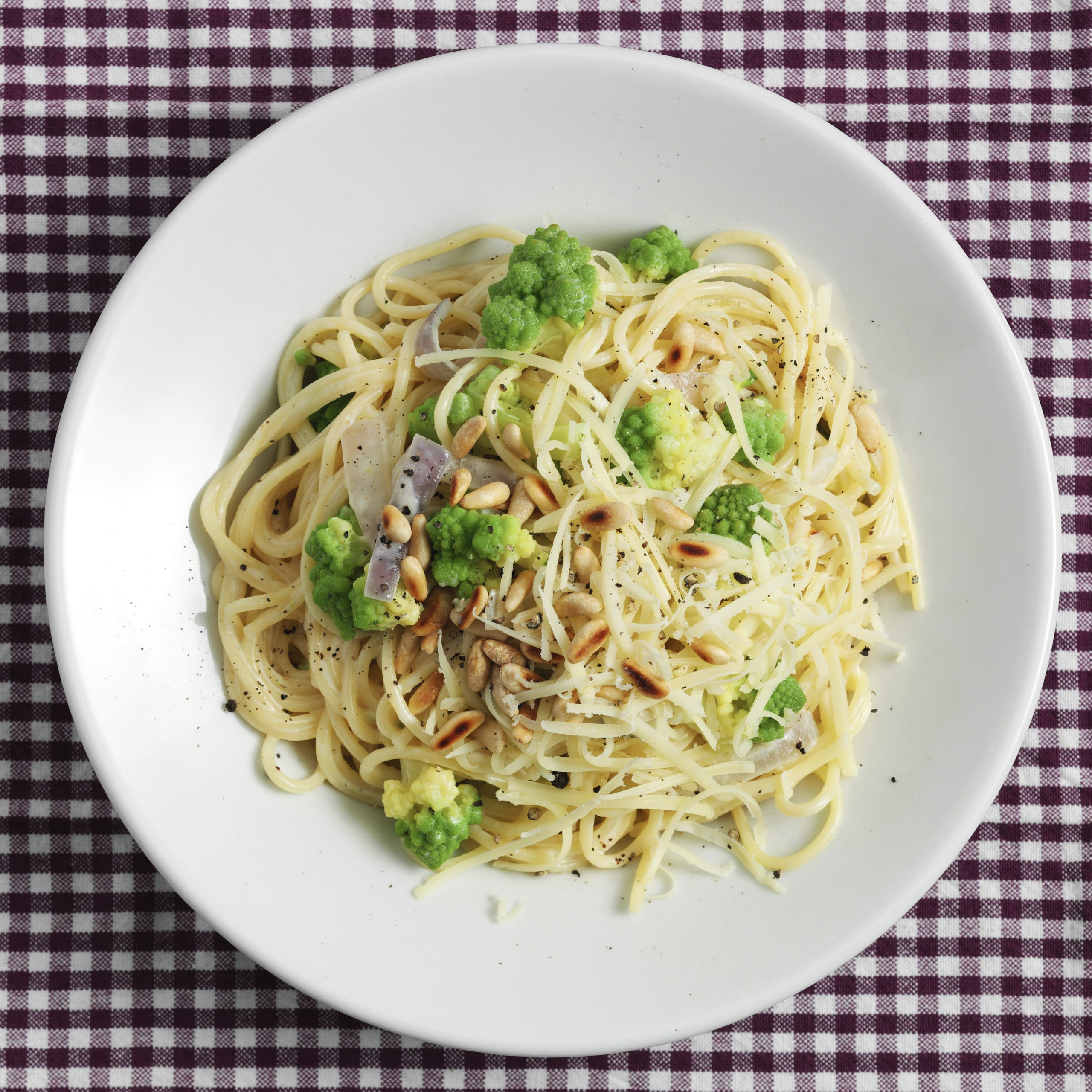 Spaghetti mit Romanesco