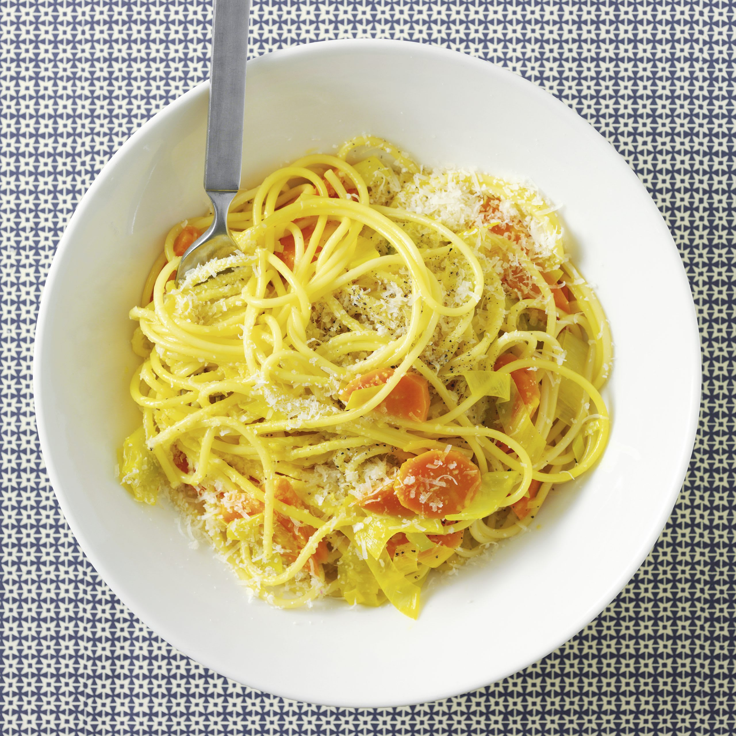 Spaghetti mit Rüeblisauce