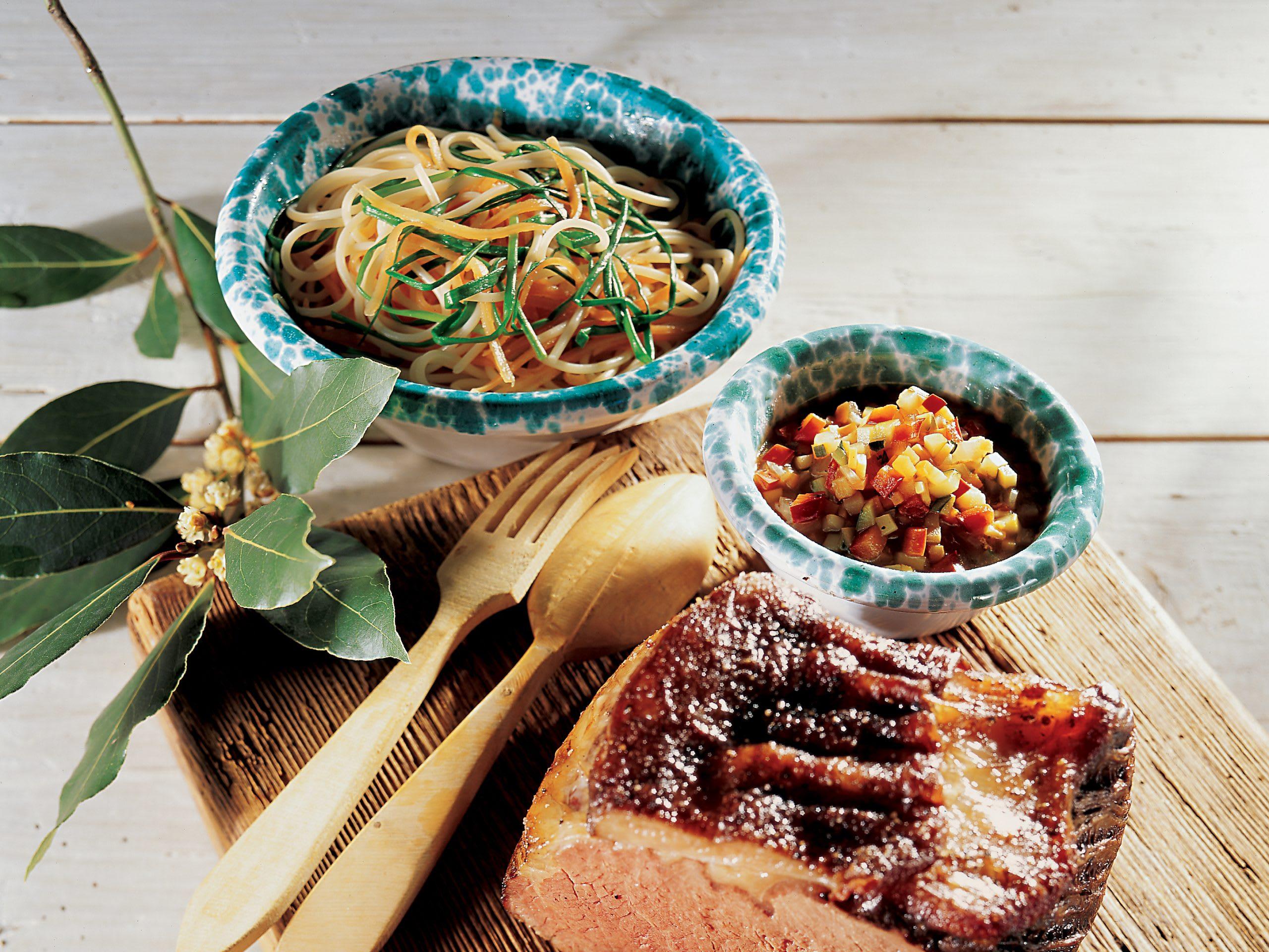 Spaghetti-Rüebli-Salat