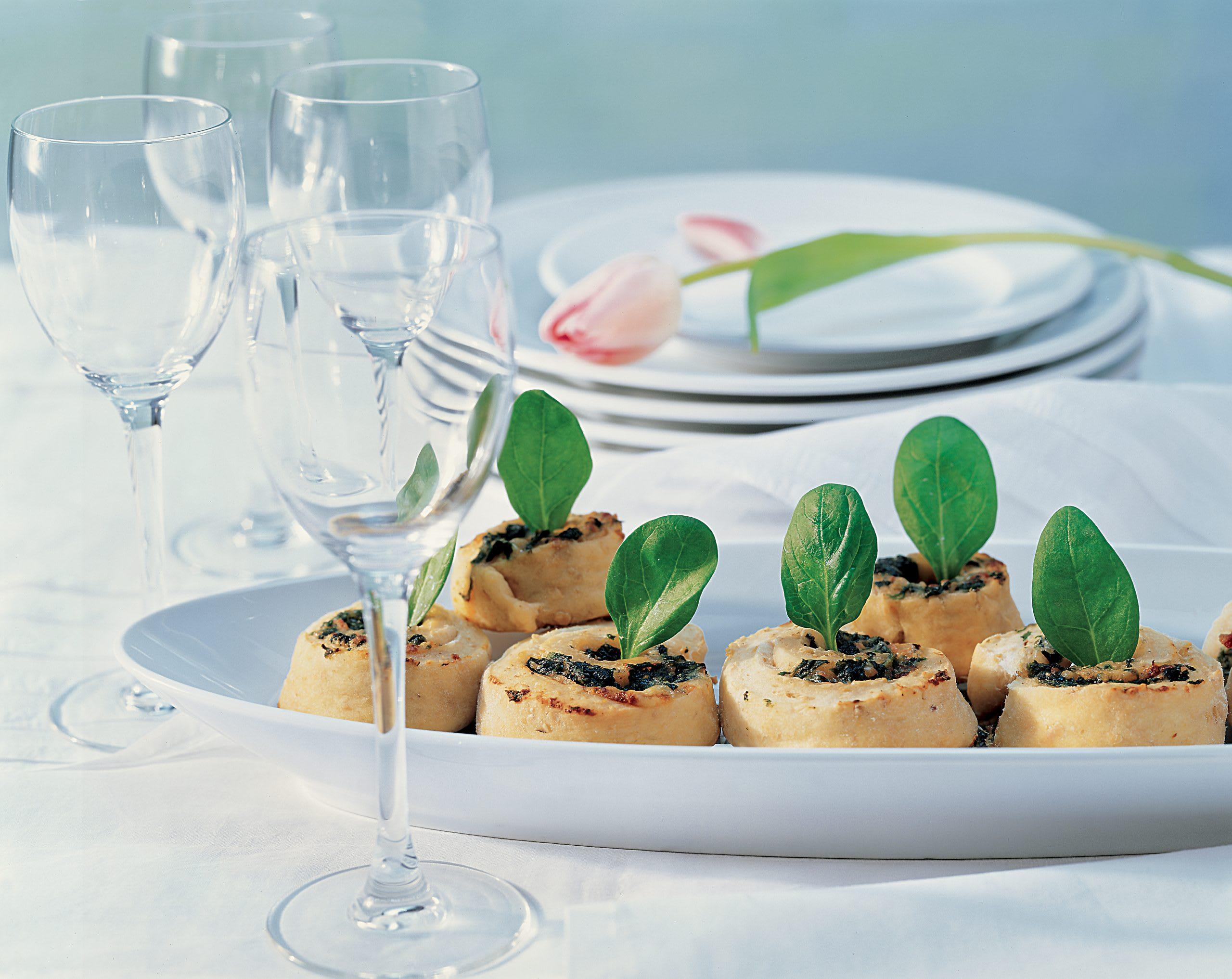 Escargots aux épinards