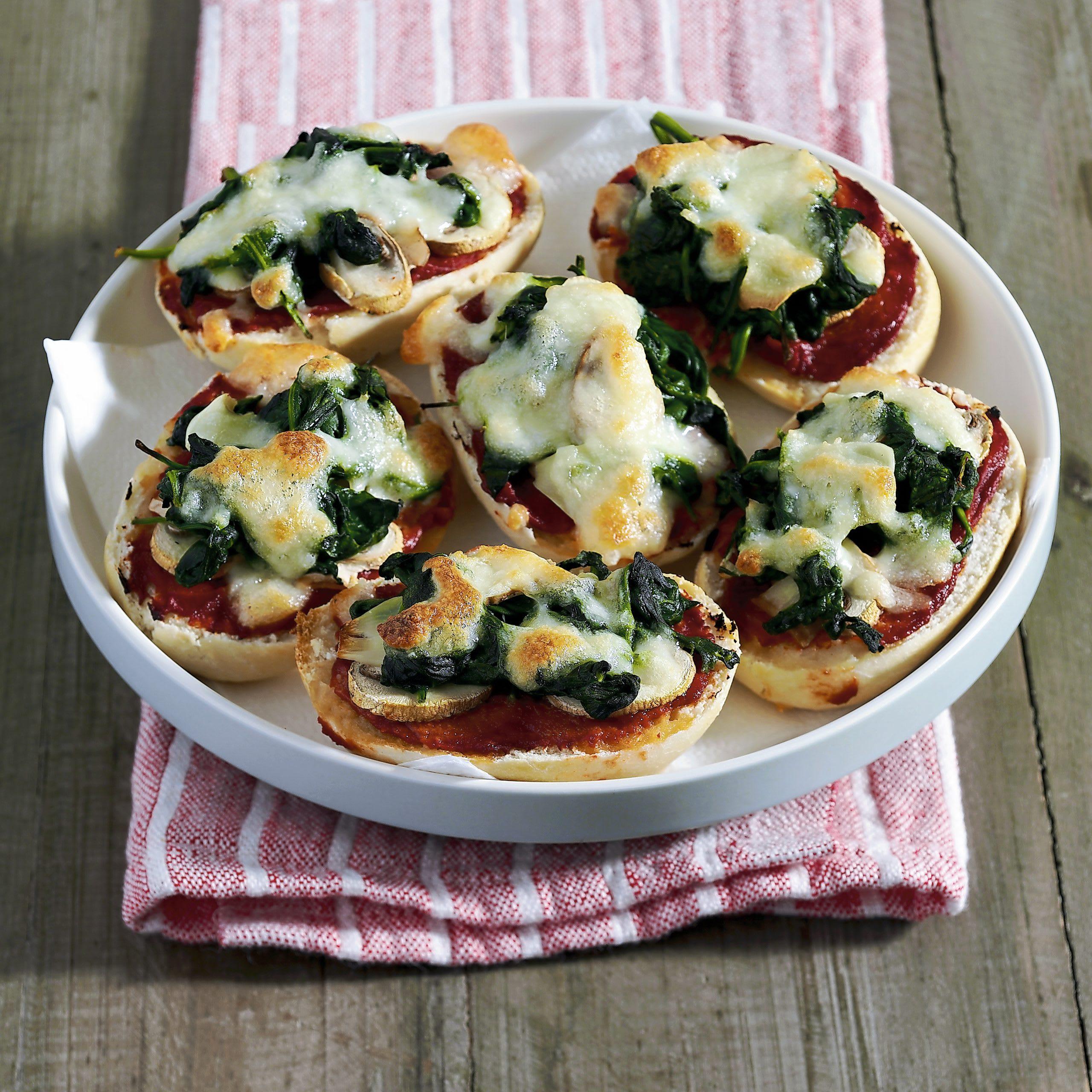 Panizza aux épinards