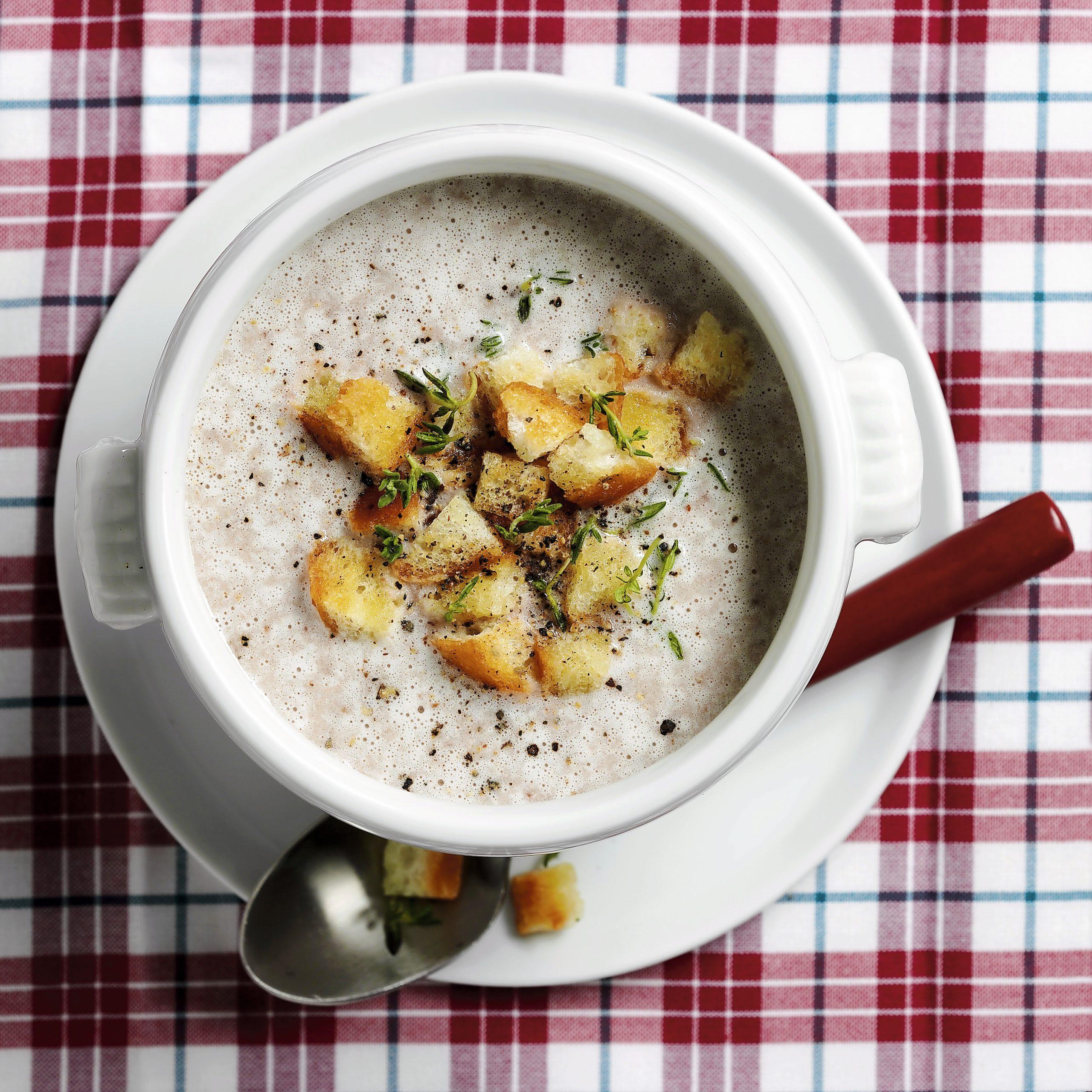 Steinpilz-Crèmesuppe