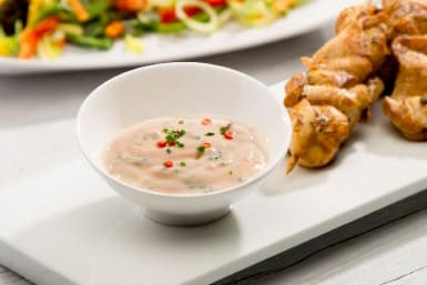 Süss-saure Joghurtsauce (Fondue Chinoise oder Dip)