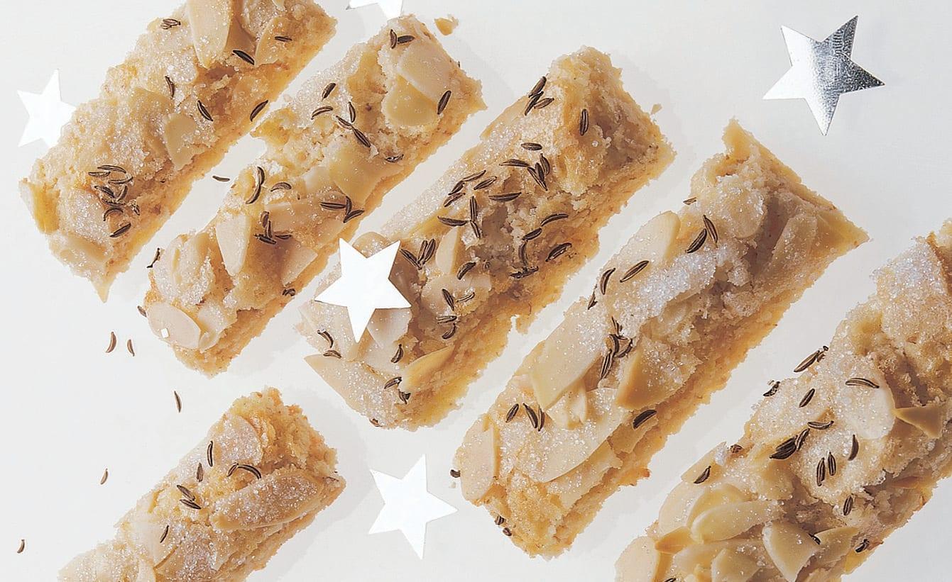 Biscuits aux amandes et au cumin