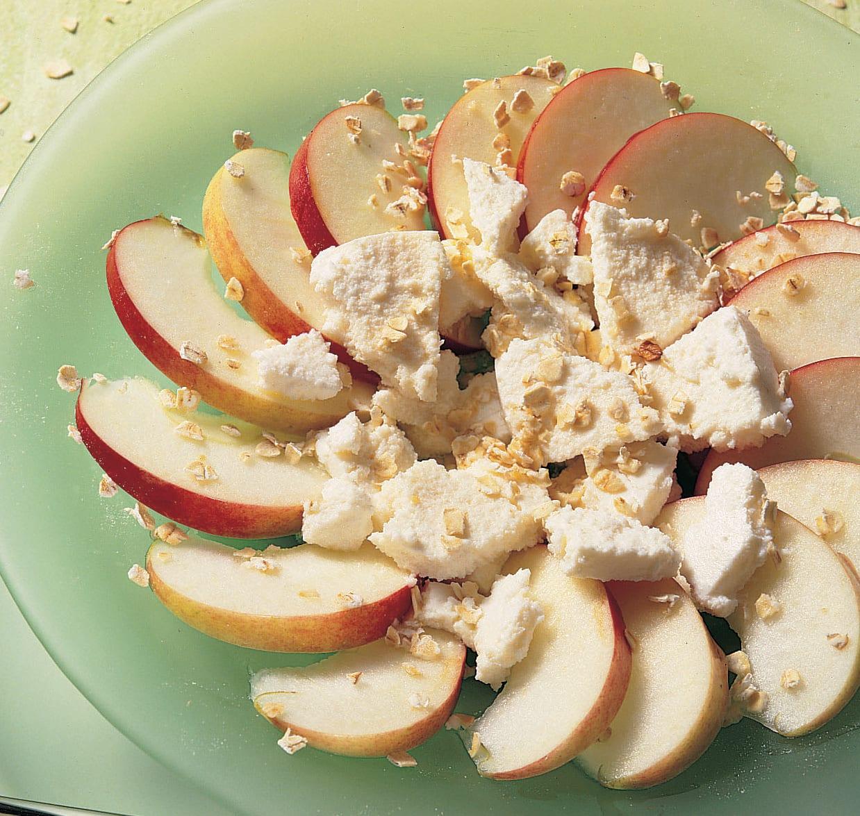 Salade de pommes à la ricotta