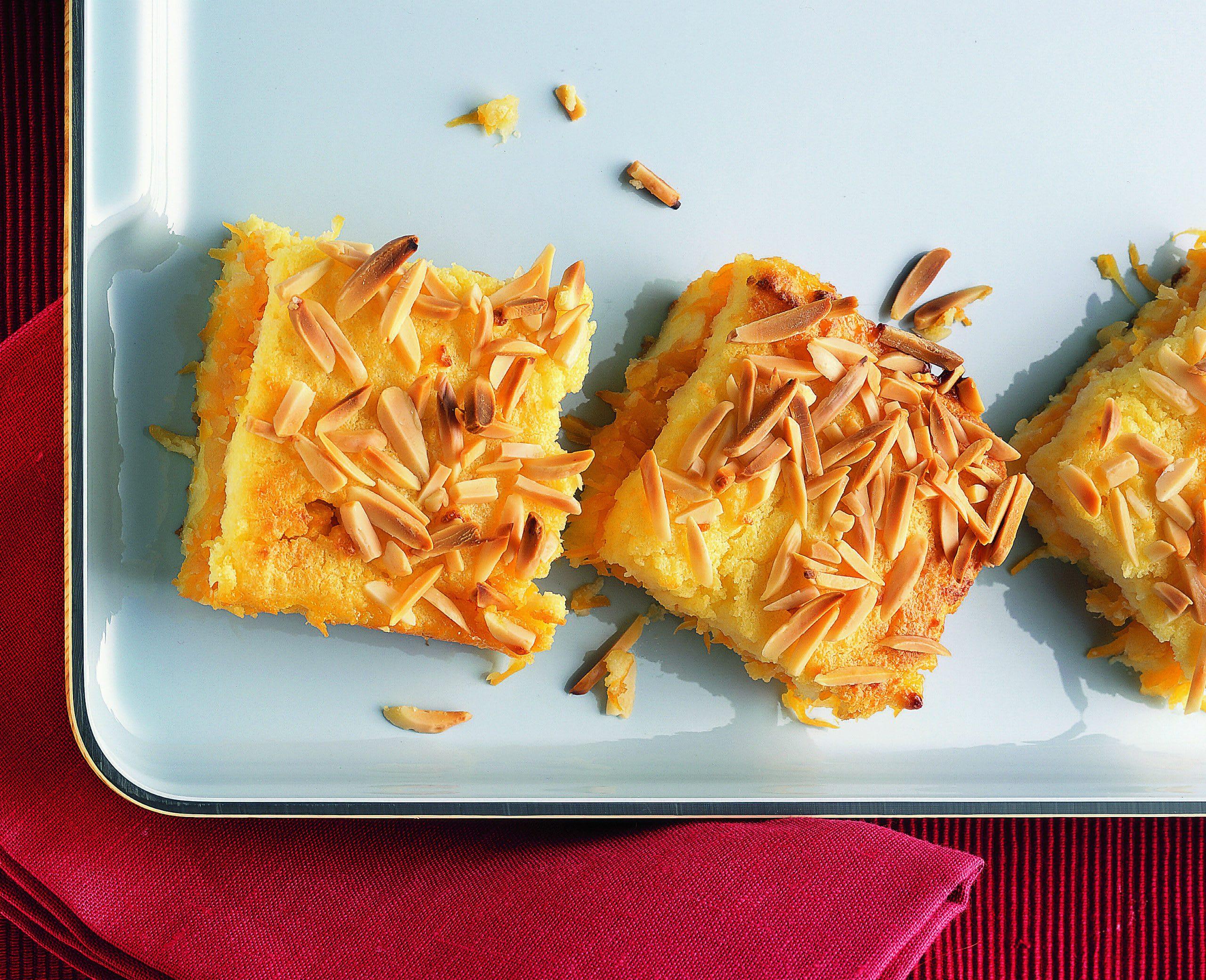 Gâteau de semoule pommes-carottes