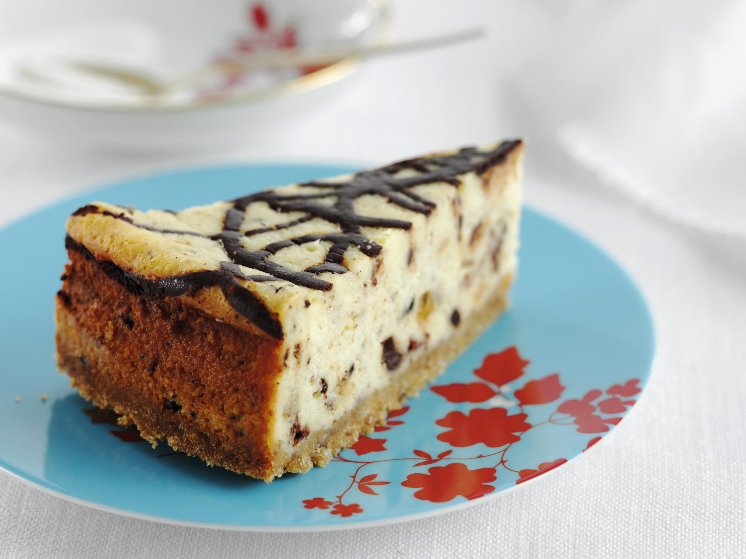 Tiramisu-Cheesecake mit Quark