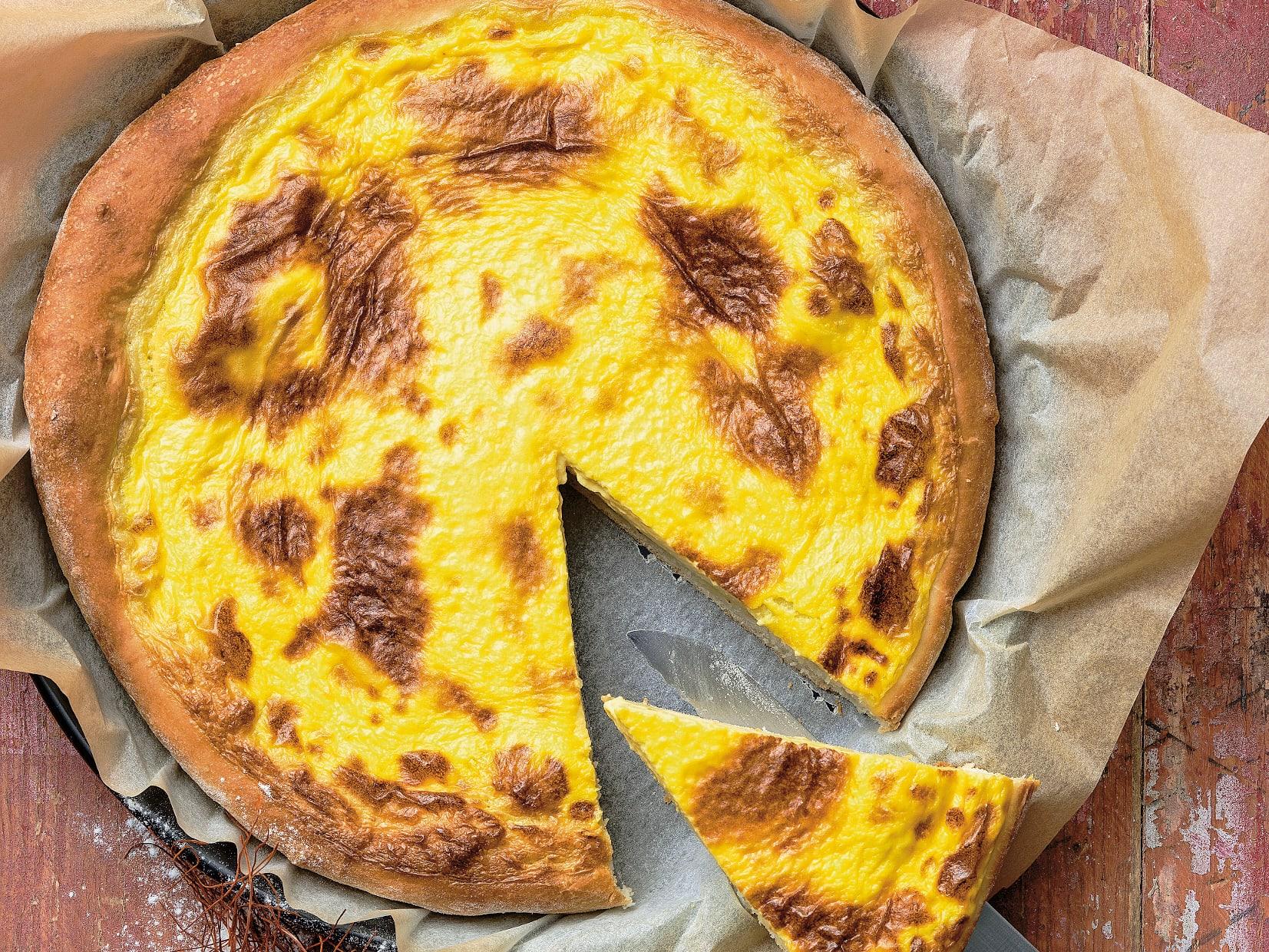 Totché (gâteau à la crème du Jura)