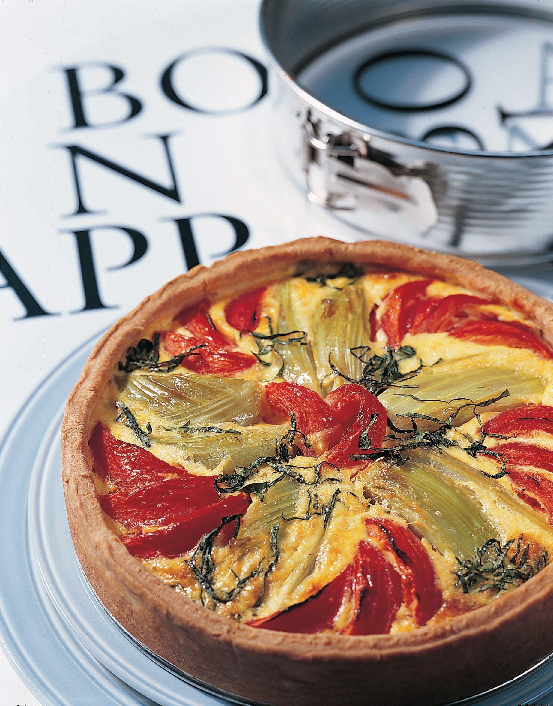 Tomaten-Fenchel-Torte