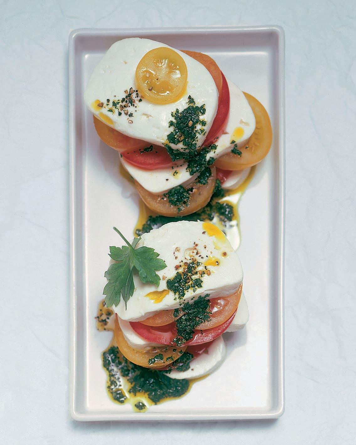 Formaggini aux tomates