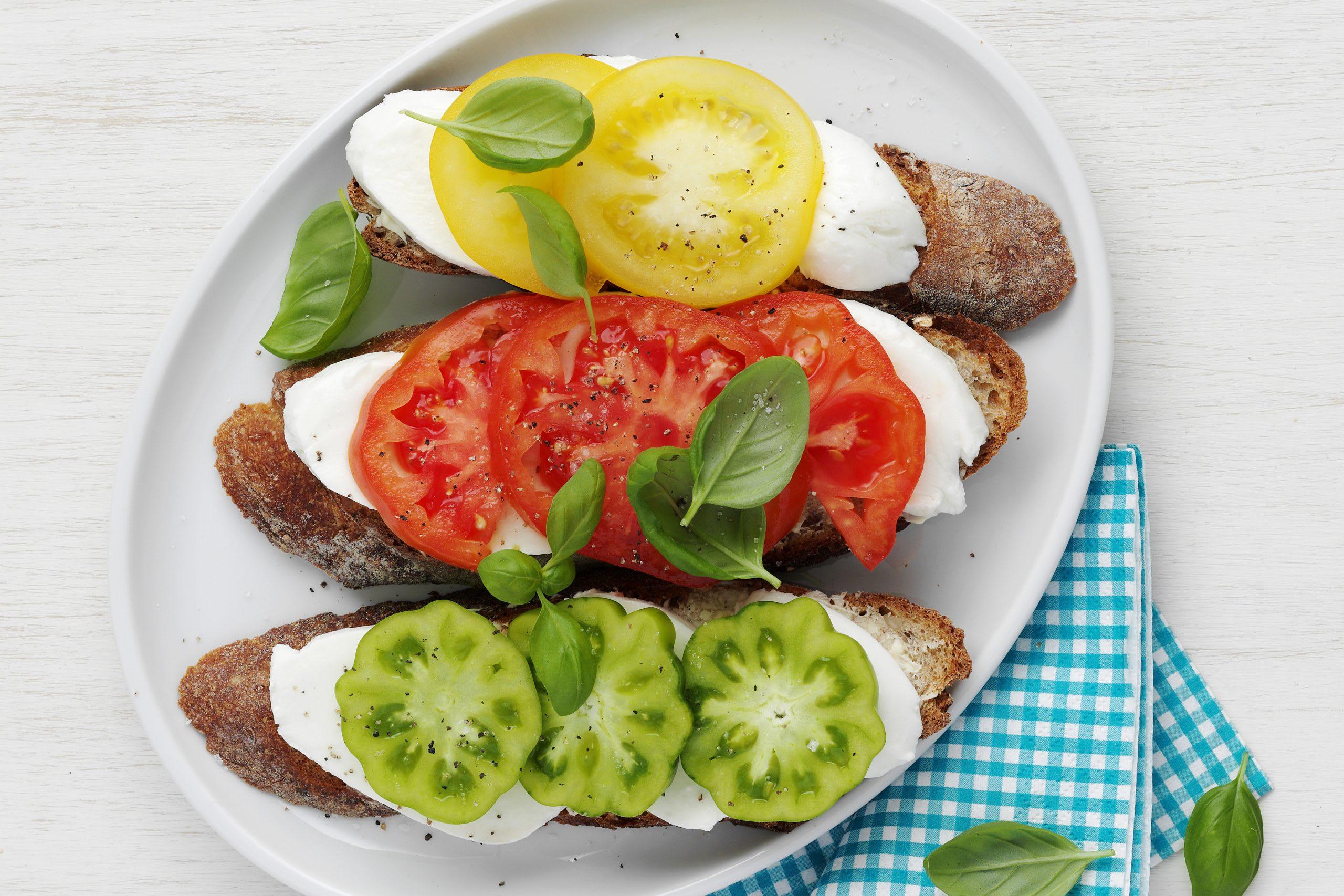 Baguette tomate-mozzarella