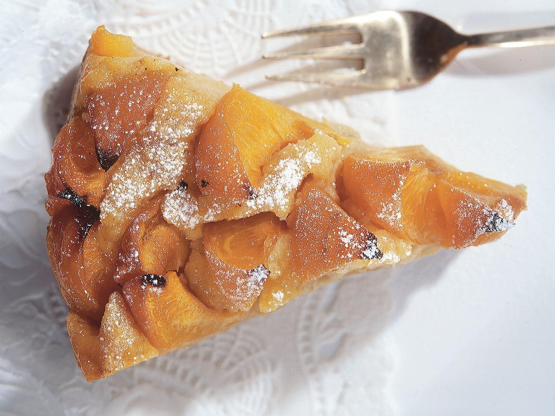 Torta di latte aux abricots