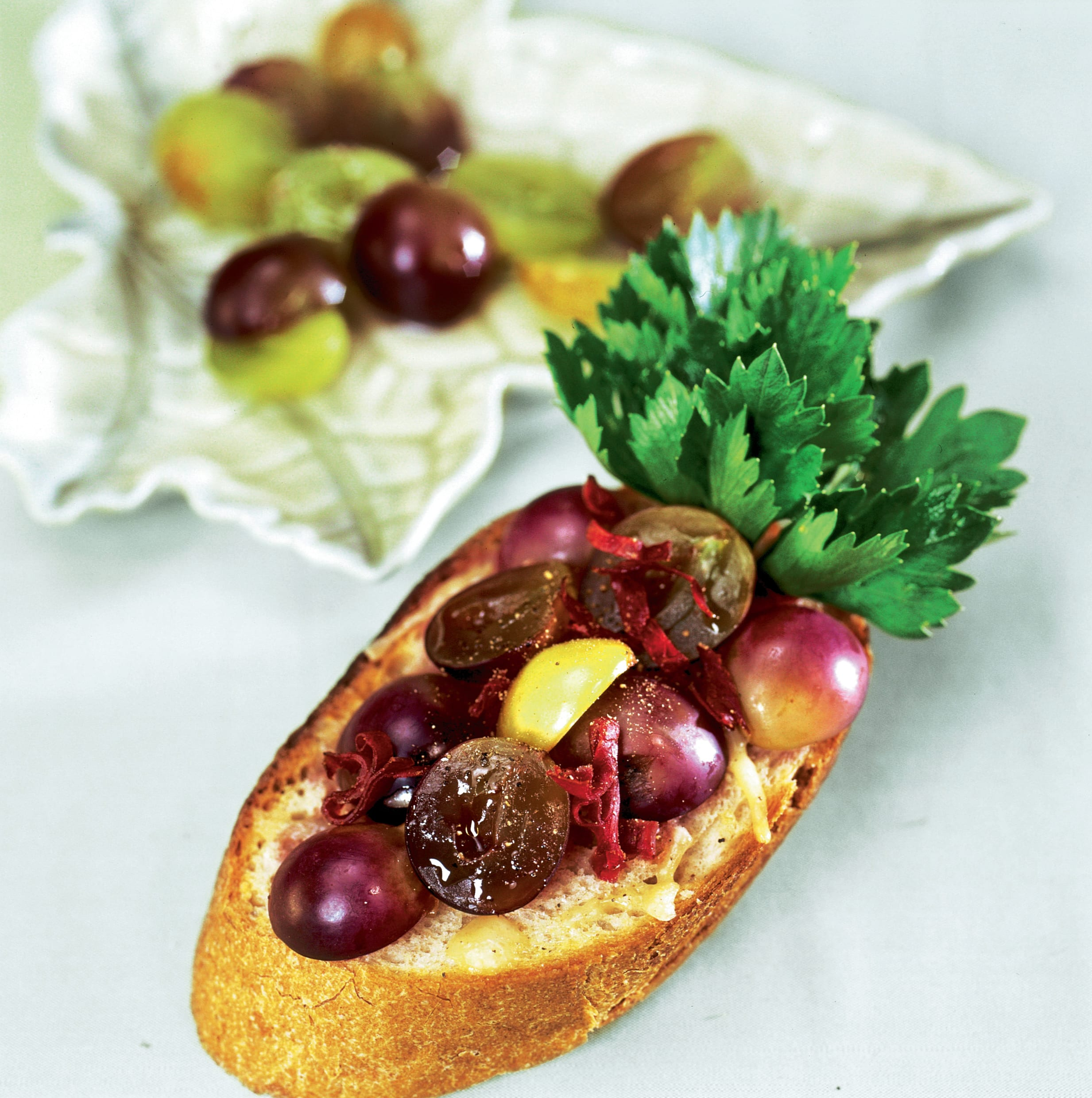 Toasts aux raisins