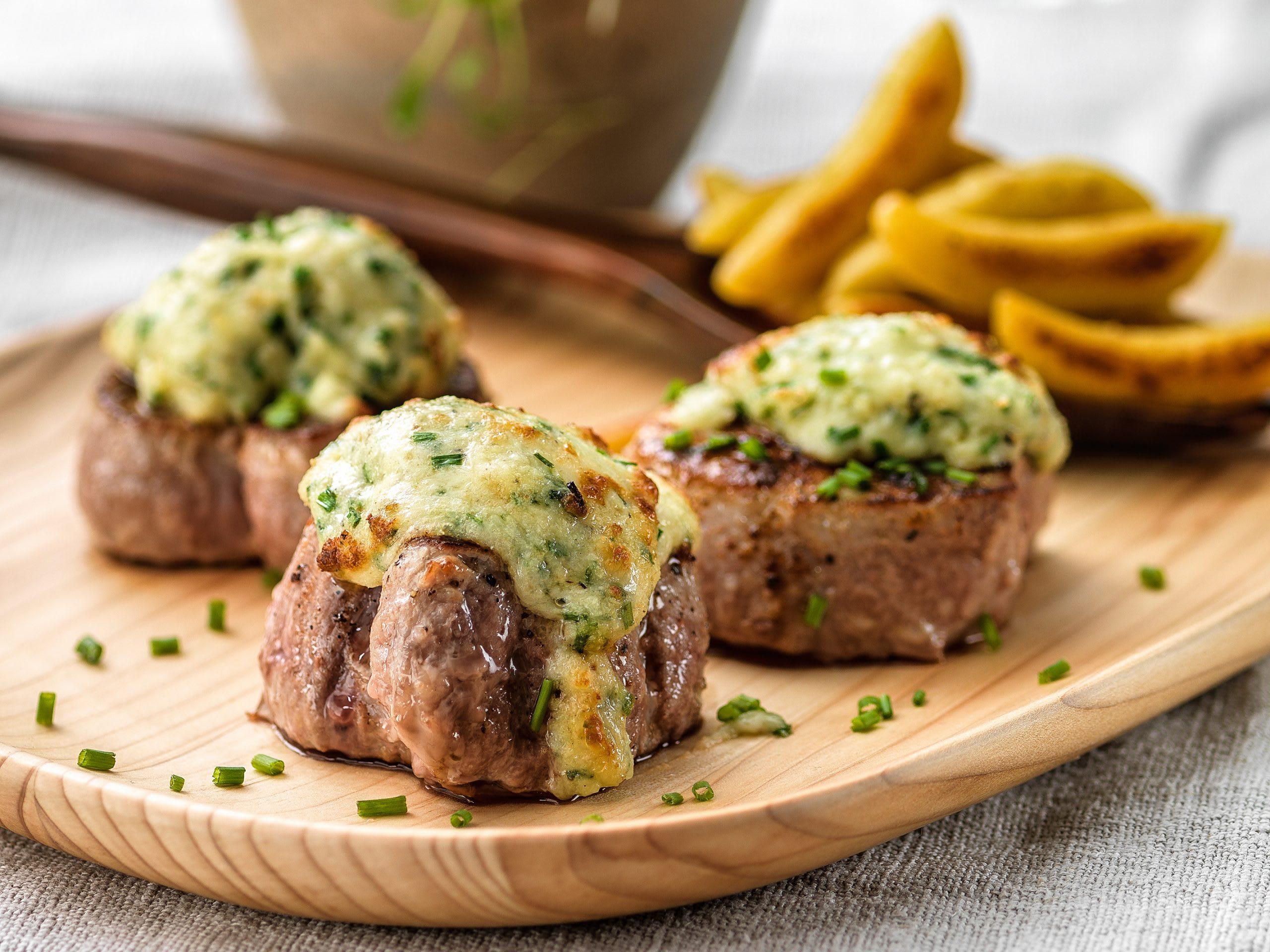 Überbackene Käse-Filets