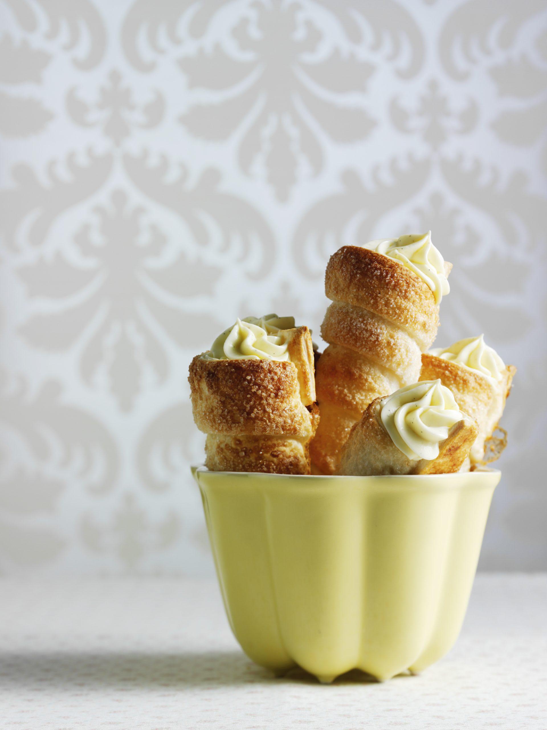 Cornets à la vanille