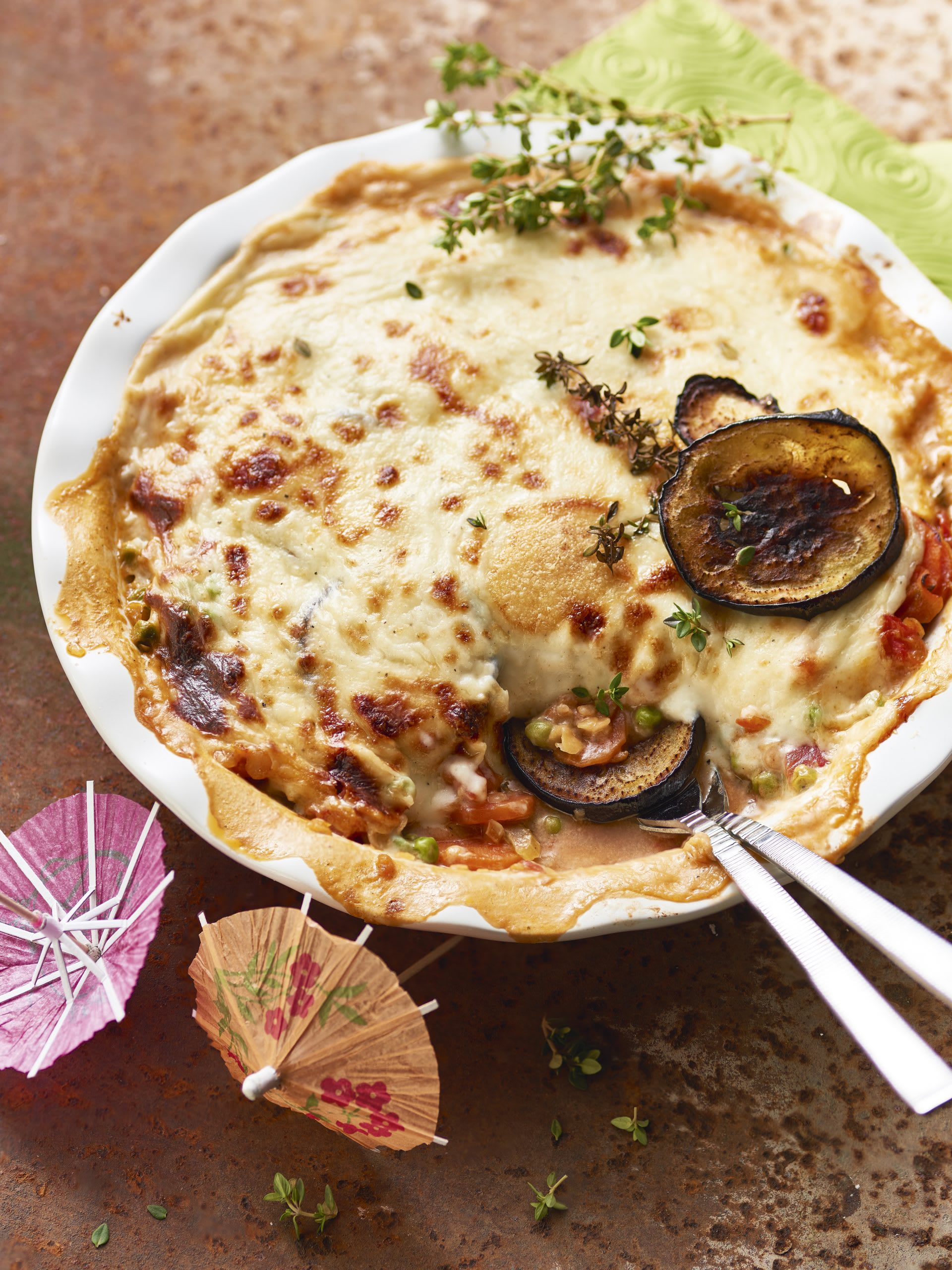 Vegetarisches Moussaka
