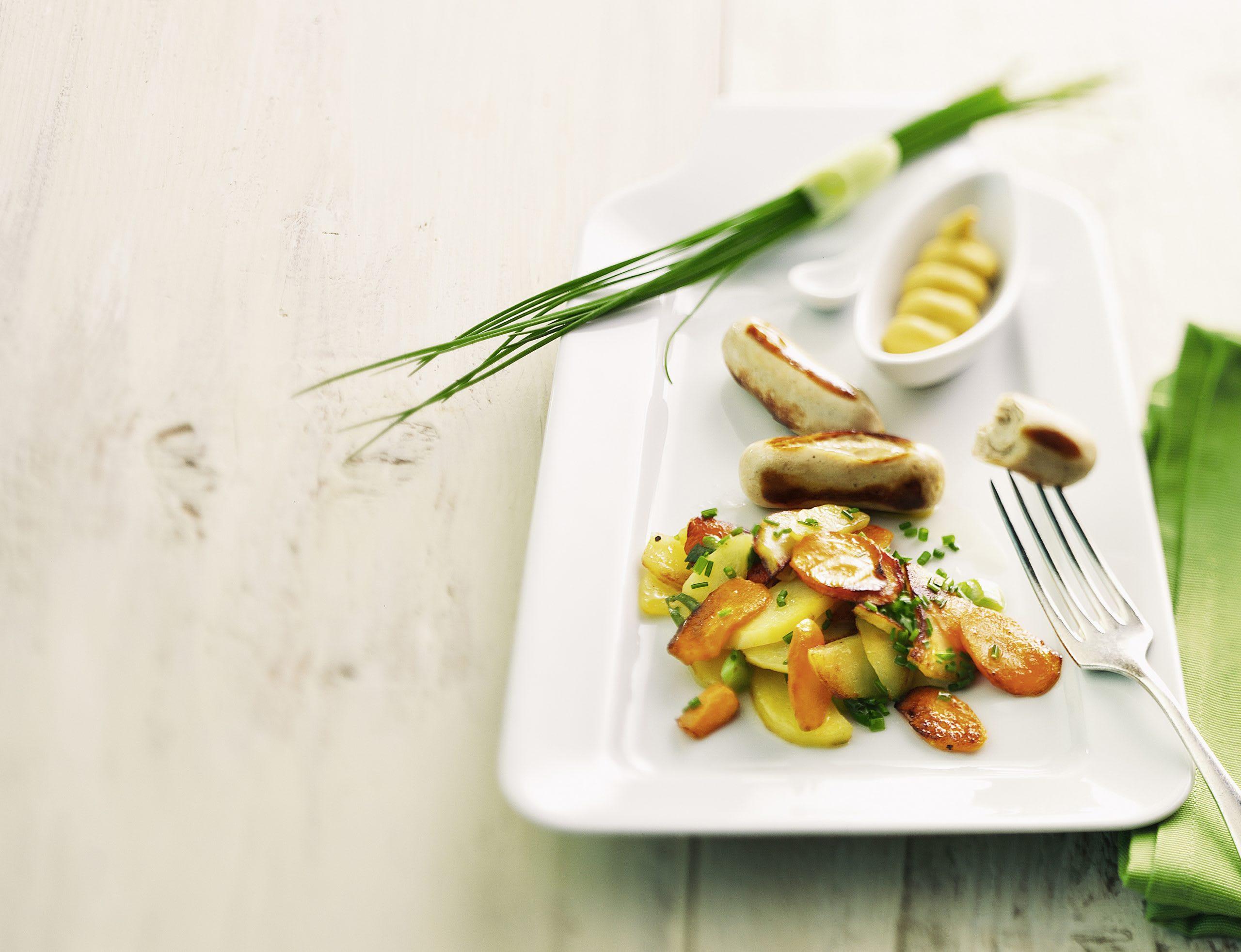 Salade de pommes de terre tiède et cipollatas