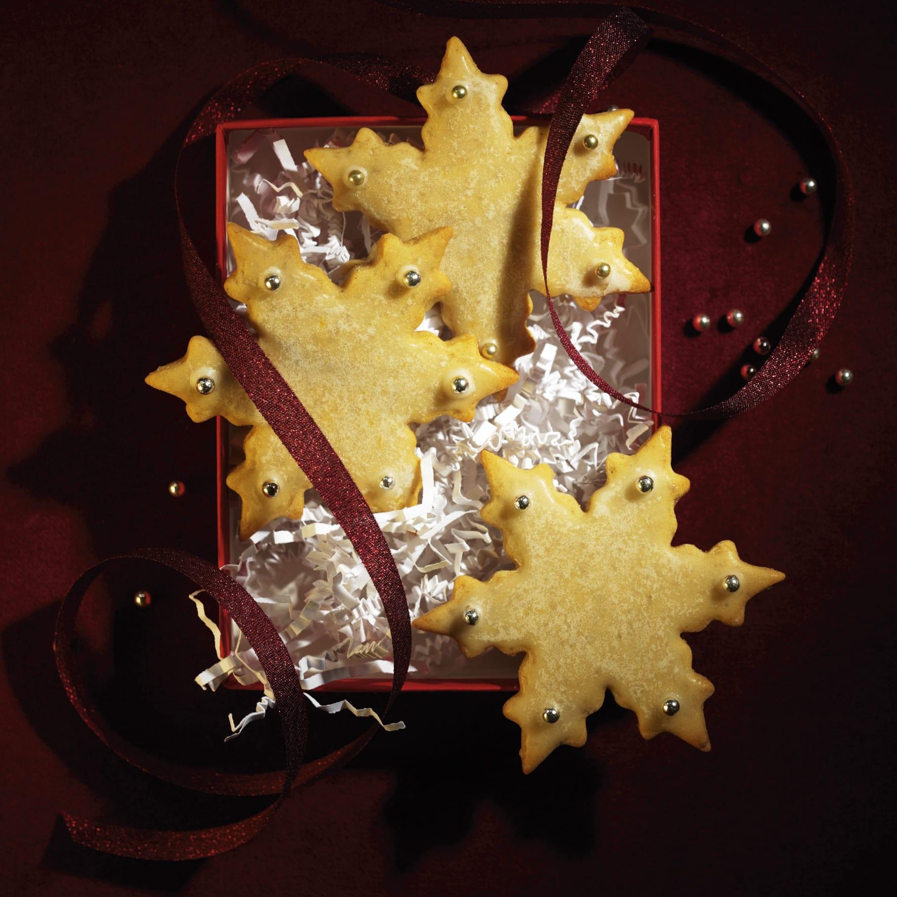 Weihnachtssterne-Guetzli