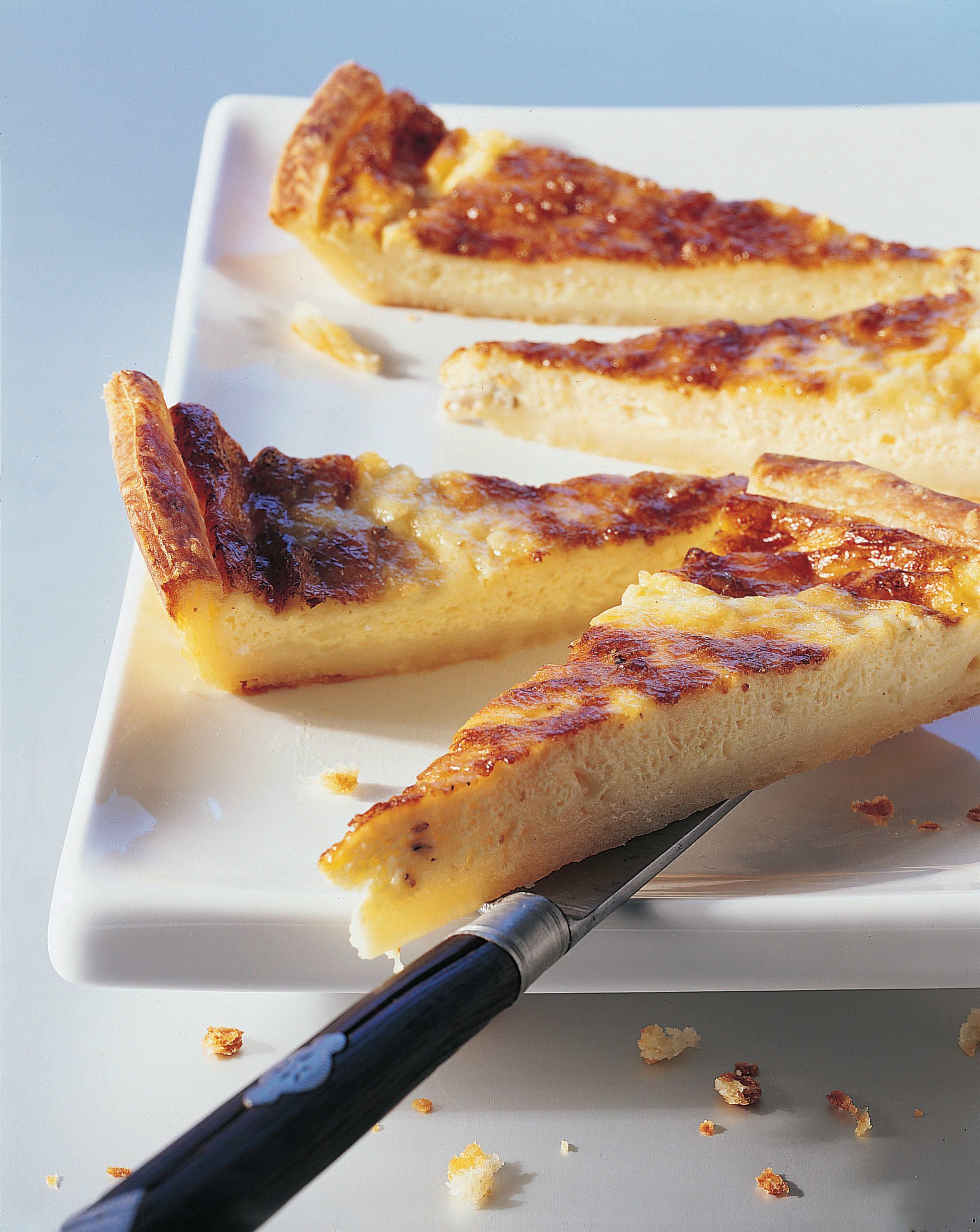 Weisswein-Käse-Tarte