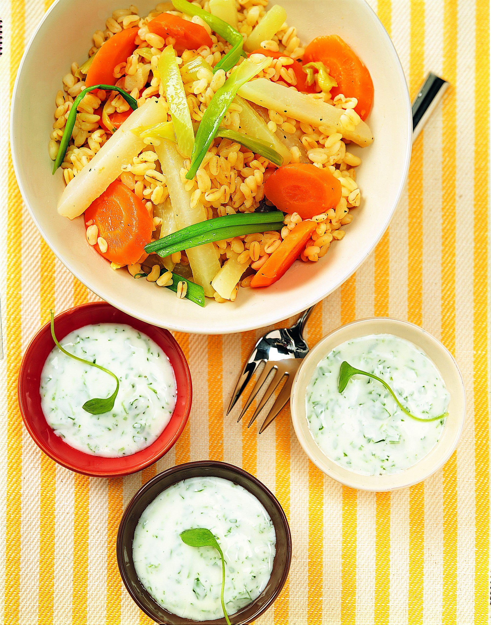 Potée de légumes aux céréales
